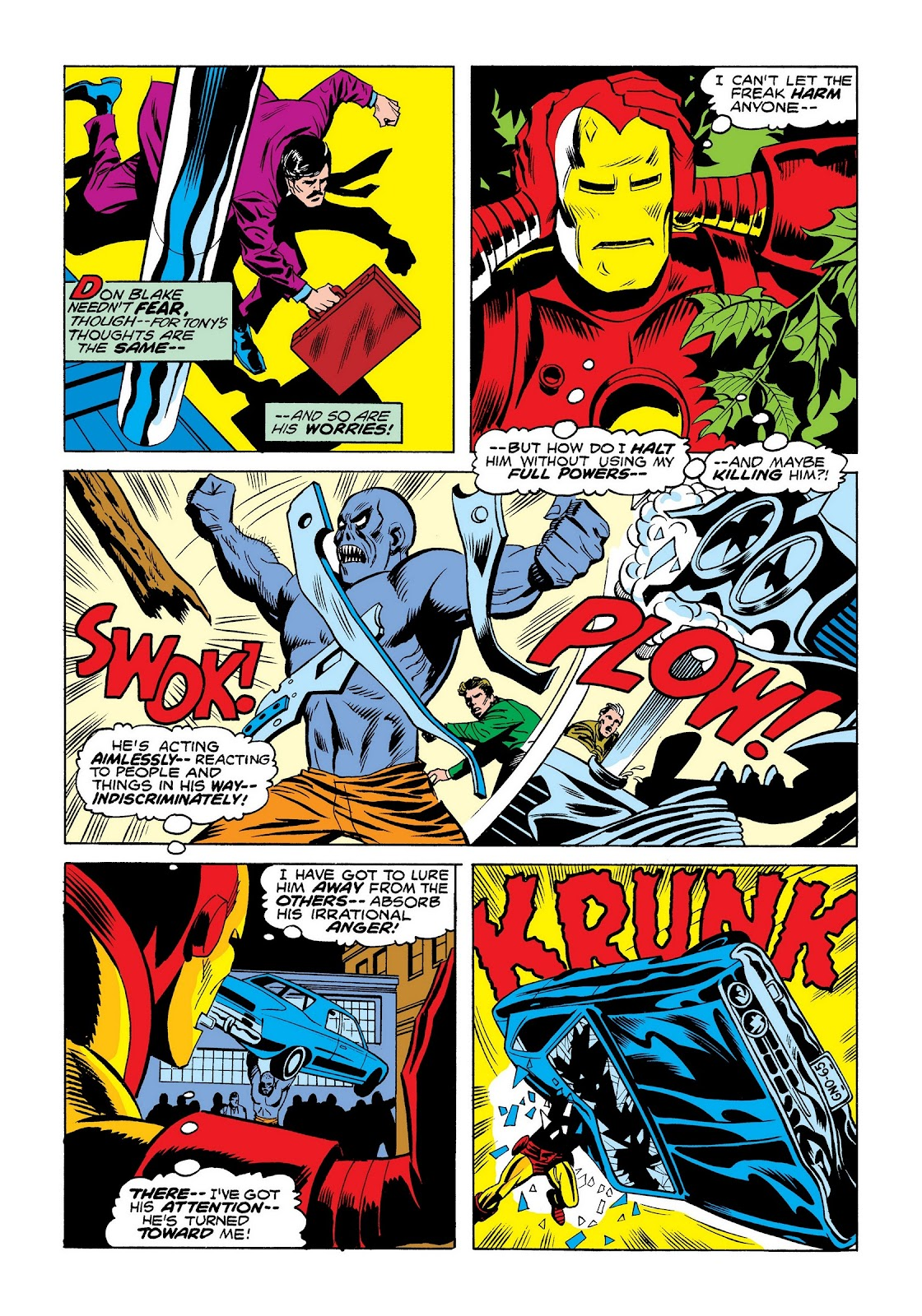 Read online Marvel Masterworks: The Invincible Iron Man comic -  Issue # TPB 9 (Part 3) - 84