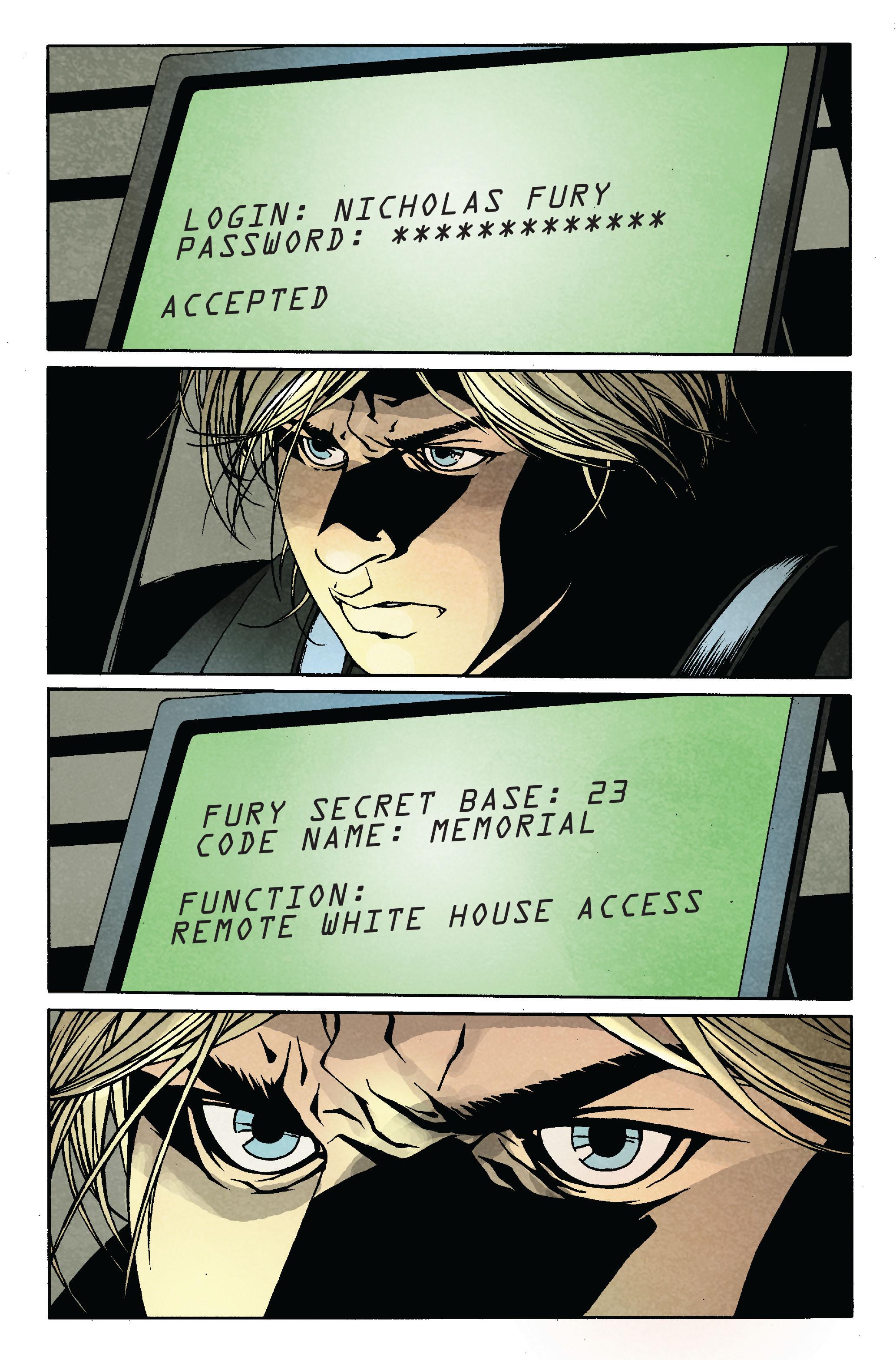 Read online Siege: Secret Warriors comic -  Issue # Full - 6