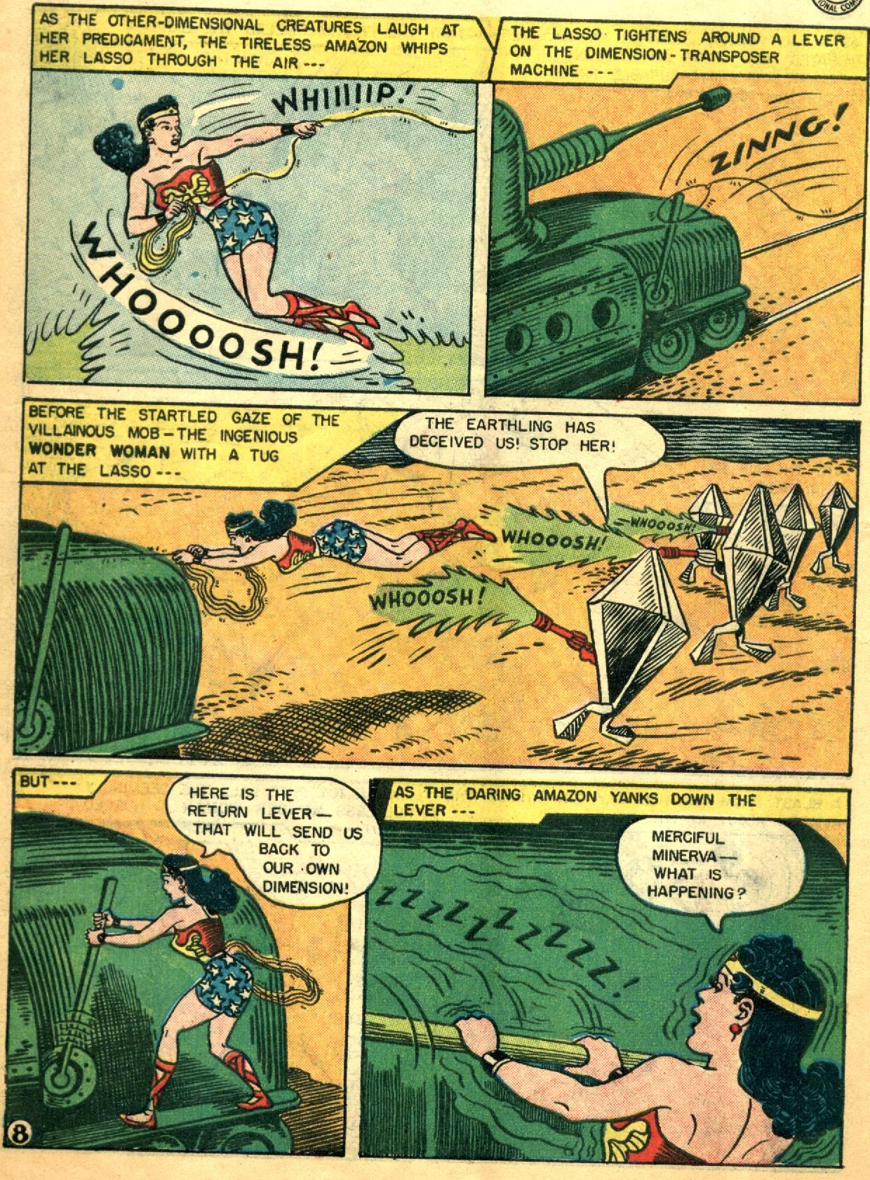 Read online Wonder Woman (1942) comic -  Issue #92 - 10