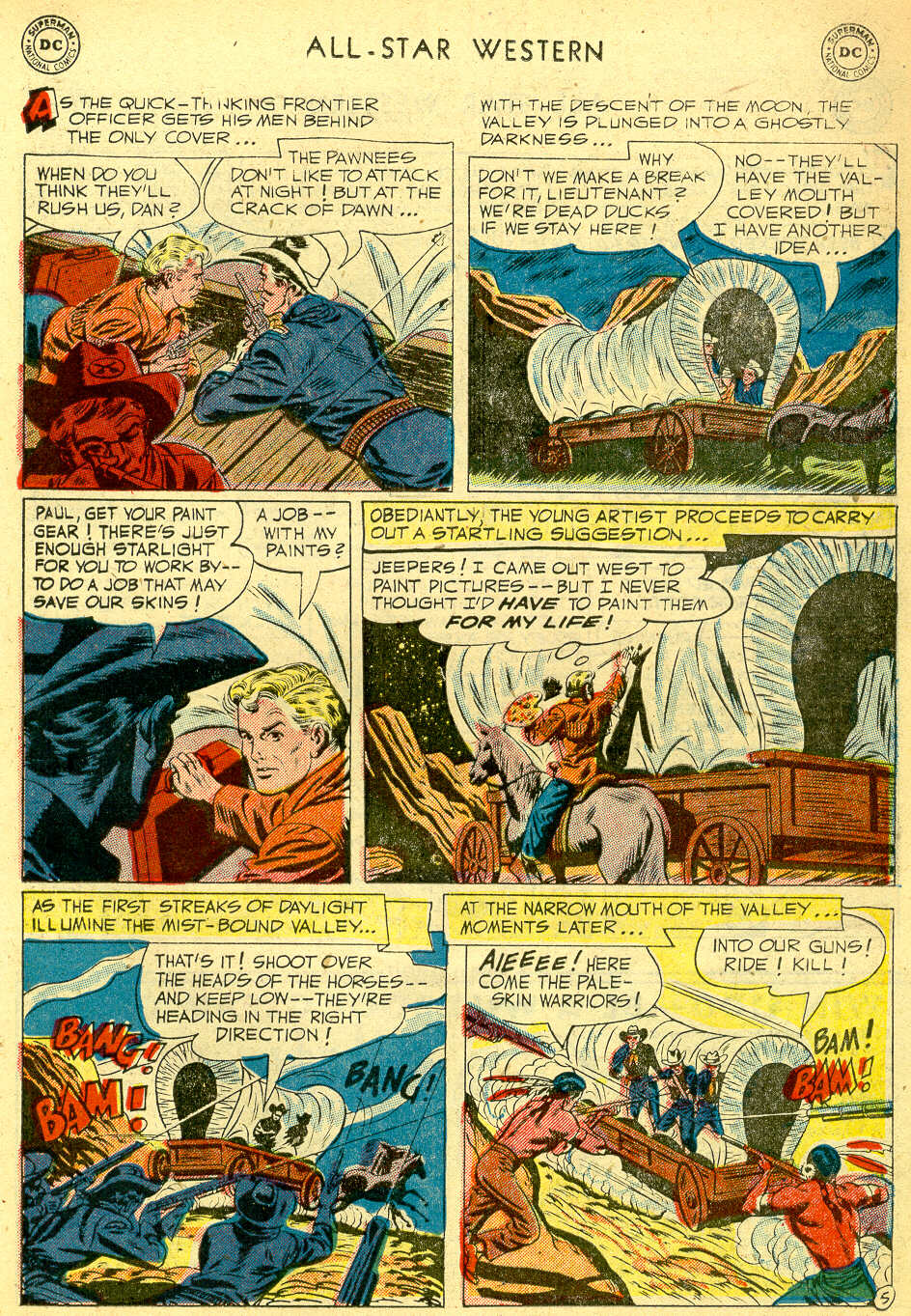 Read online All-Star Western (1951) comic -  Issue #68 - 23
