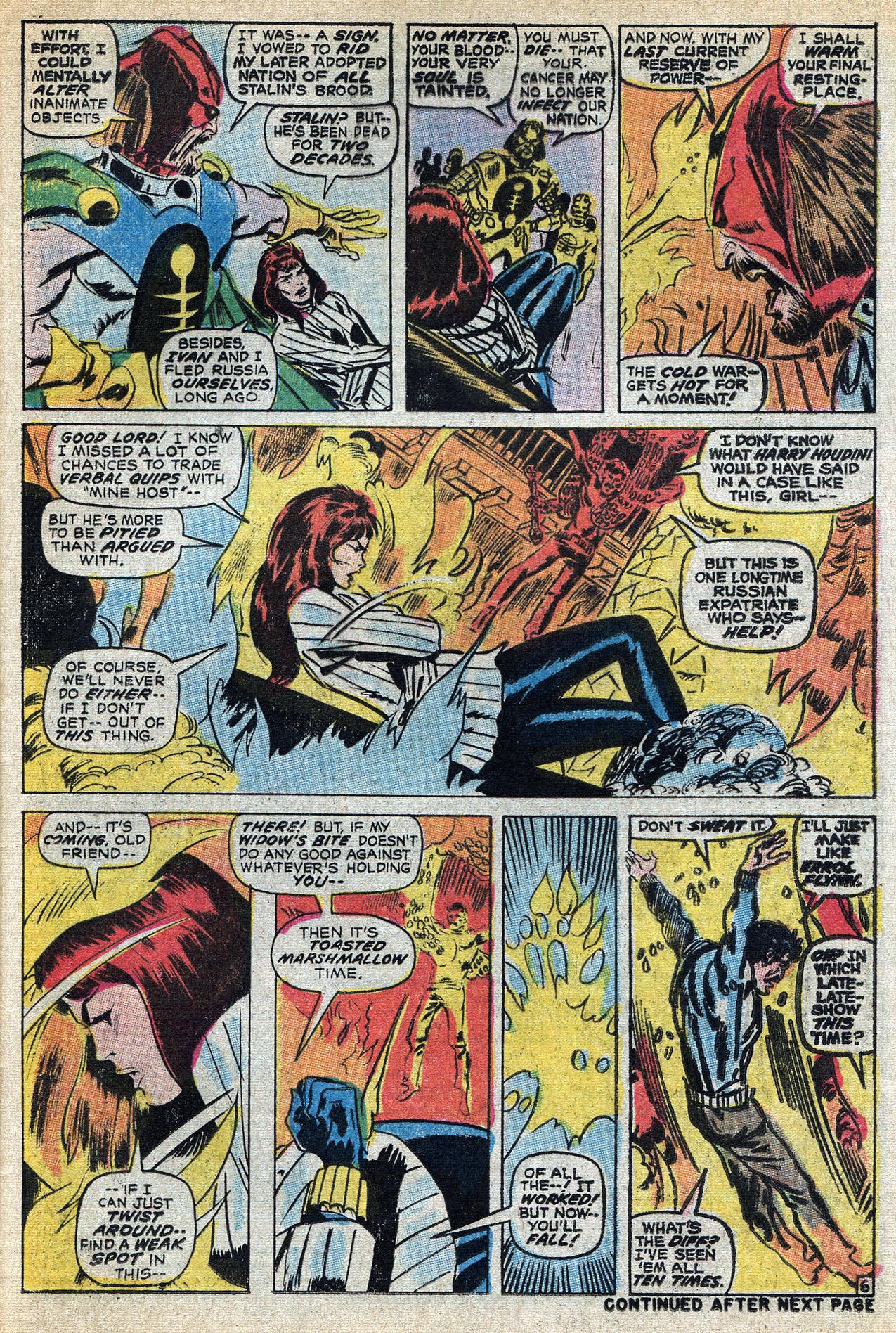 Read online Amazing Adventures (1970) comic -  Issue #8 - 25