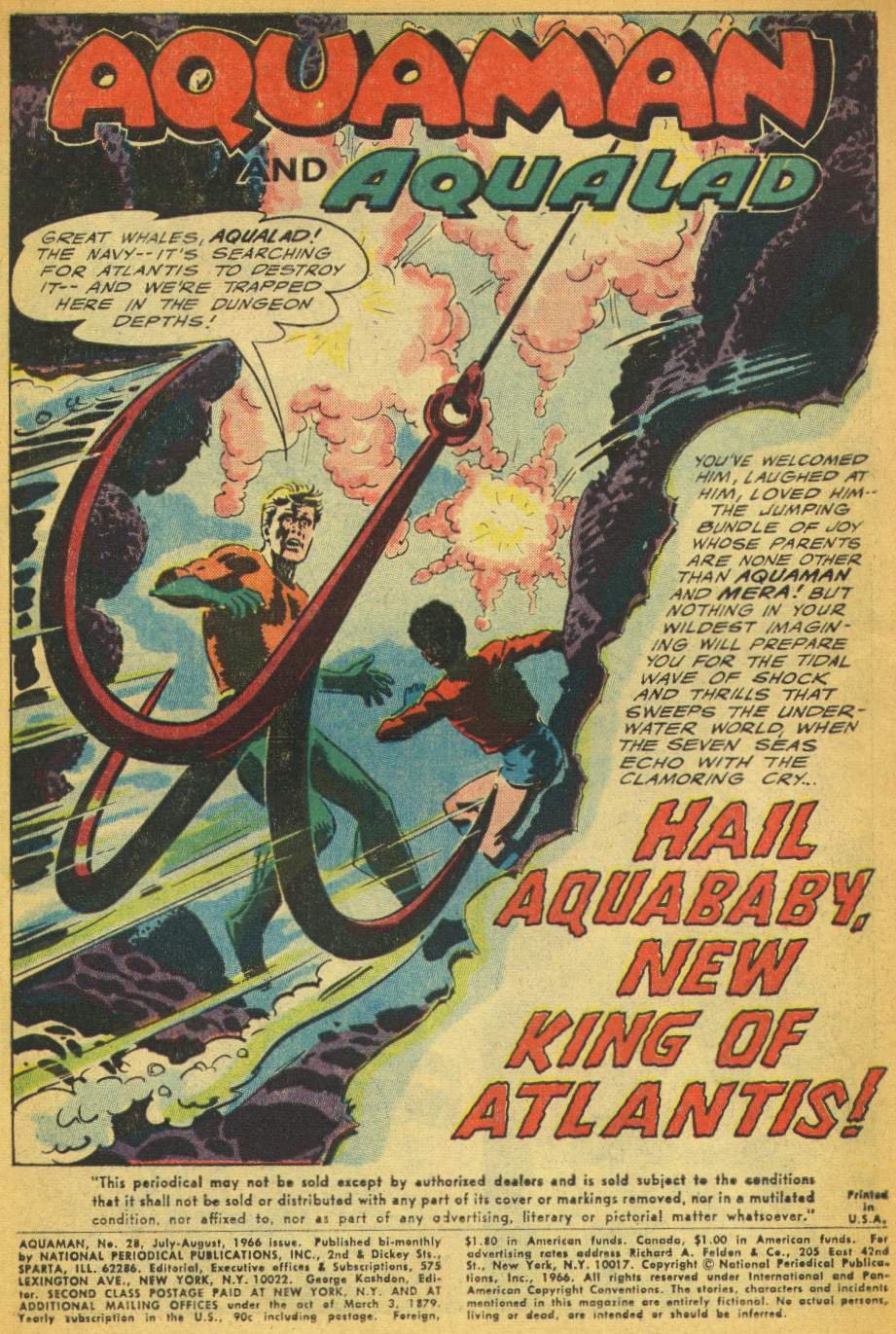 Read online Aquaman (1962) comic -  Issue #28 - 3