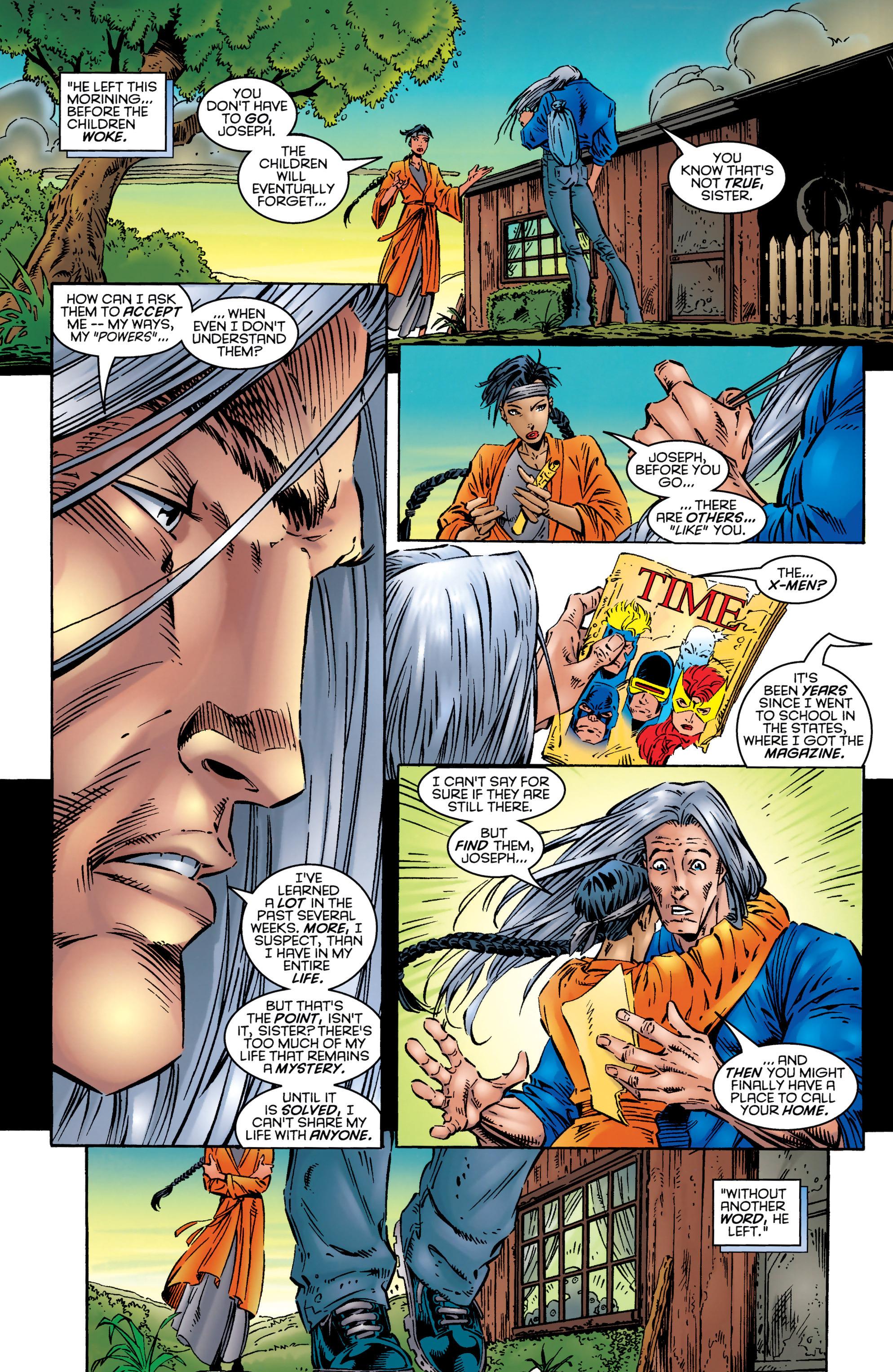 Read online Uncanny X-Men (1963) comic -  Issue #327 - 23