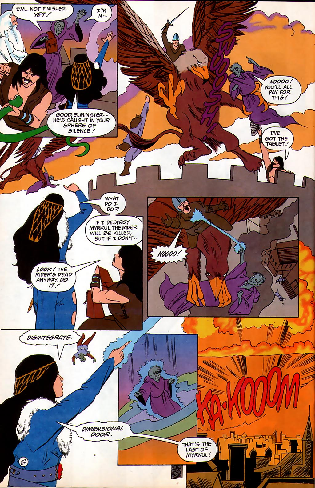 Read online Avatar comic -  Issue #3 - 83