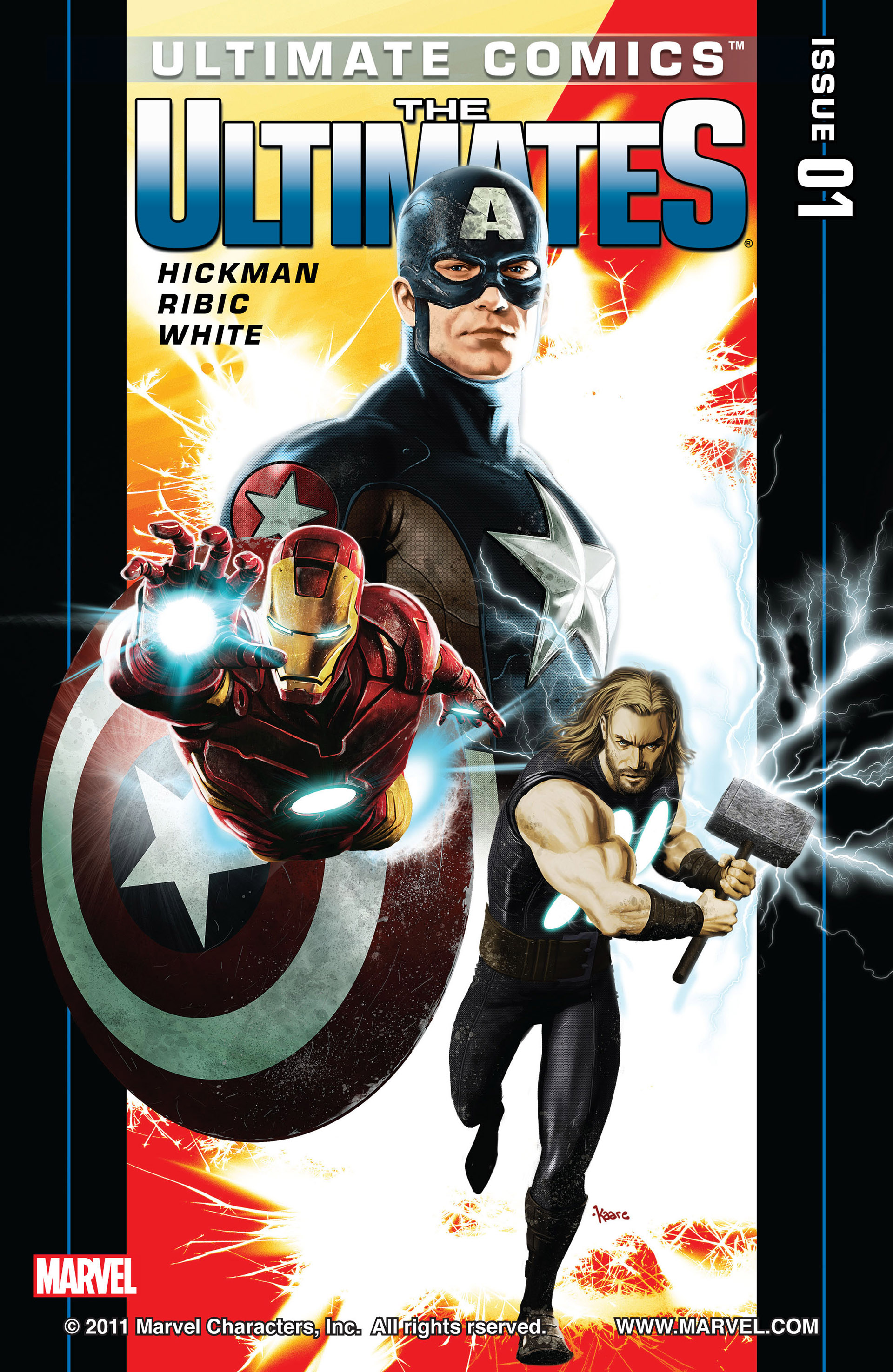Read online Ultimate Comics Ultimates comic -  Issue #1 - 1