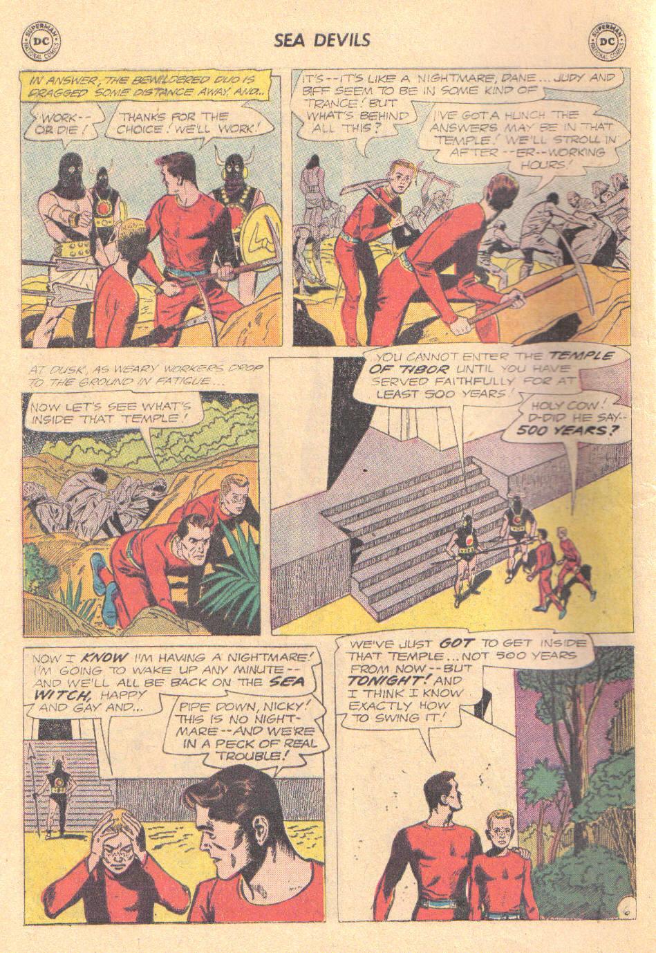 Read online Sea Devils comic -  Issue #16 - 8