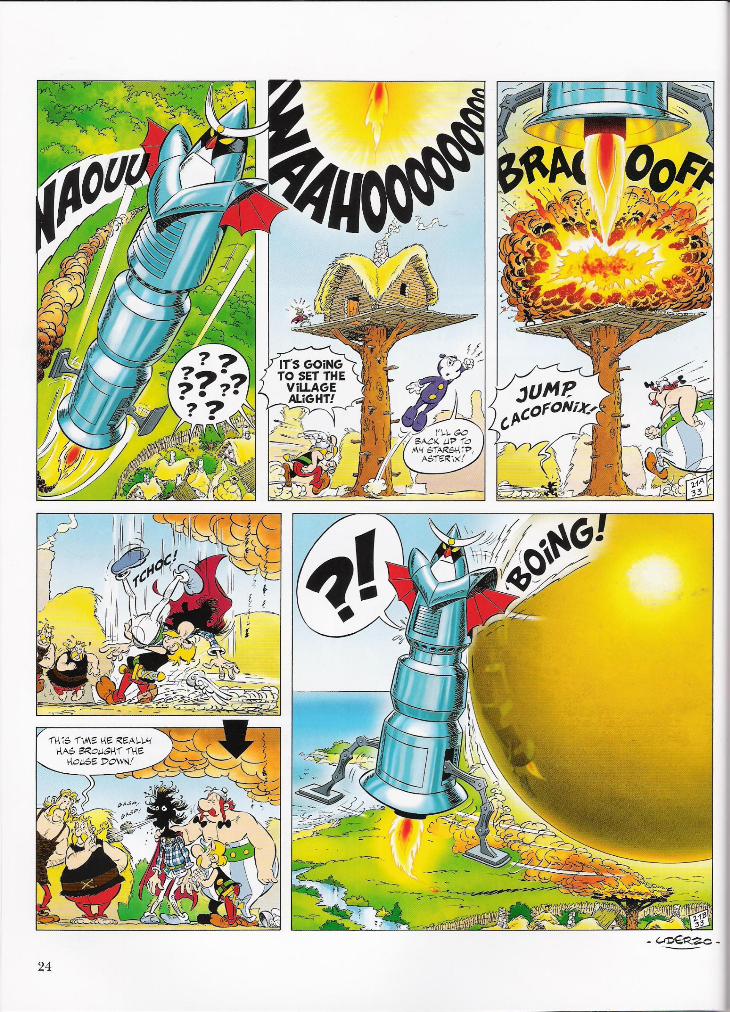 Read online Asterix comic -  Issue #33 - 24