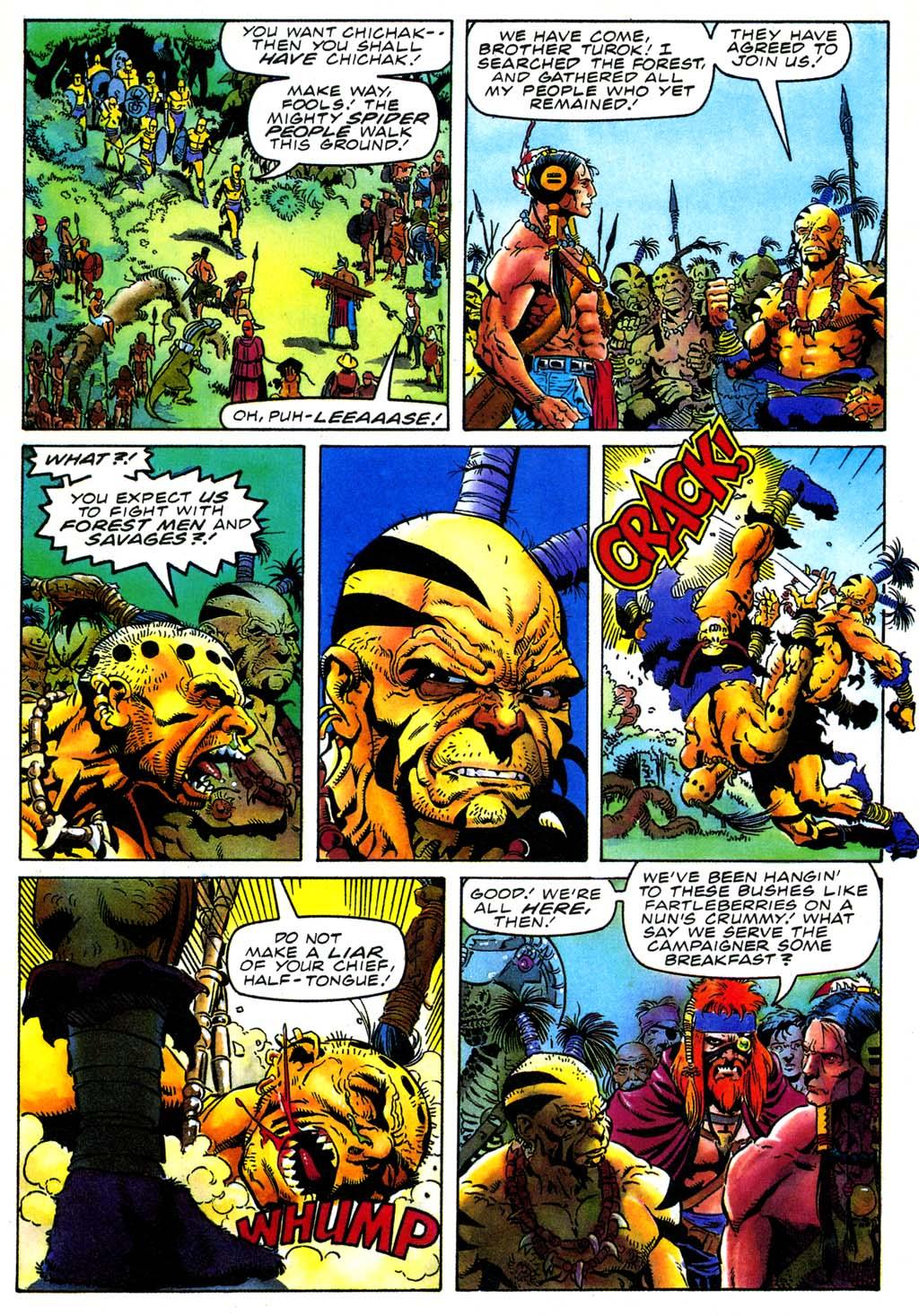 Read online Turok, Dinosaur Hunter (1993) comic -  Issue #27 - 7