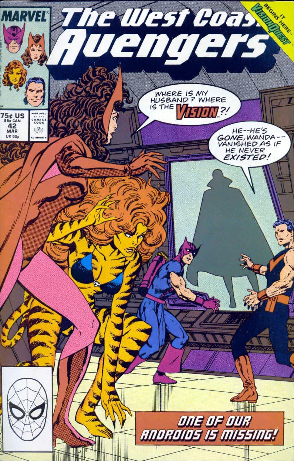 West Coast Avengers (1985) 42 Page 1