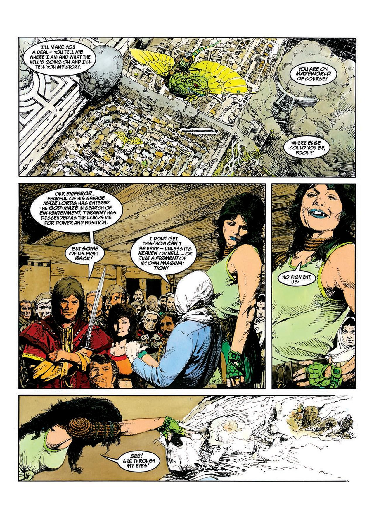 Read online Mazeworld comic -  Issue # TPB - 19
