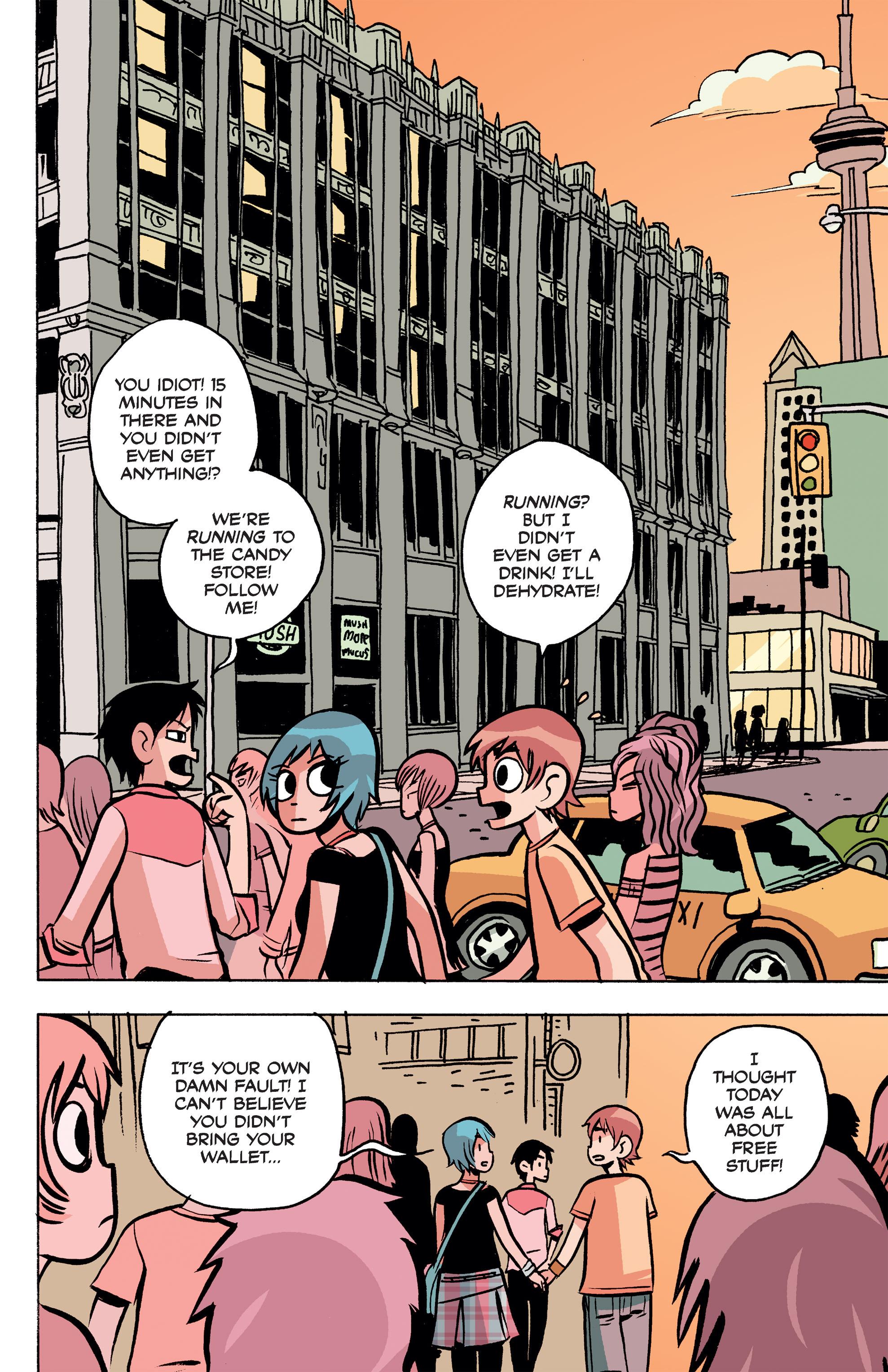 Read online Scott Pilgrim Free Comic Book Day Story comic -  Issue # Full - 4