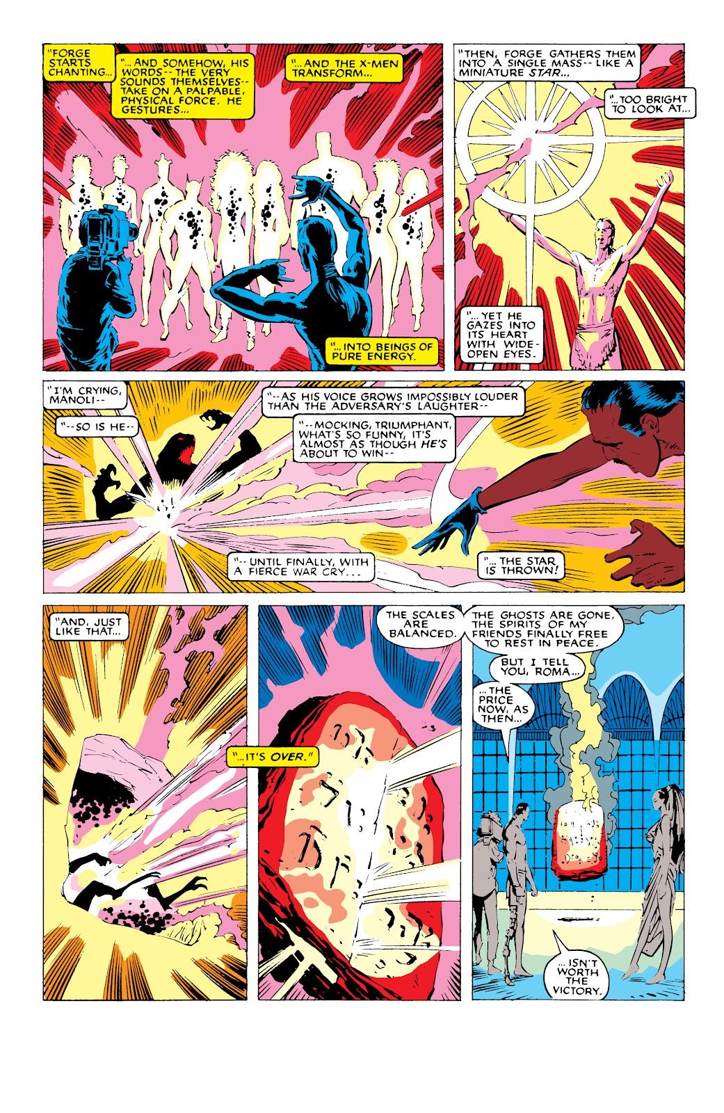 Read online X-Men Milestones: Fall of the Mutants comic -  Issue # TPB (Part 1) - 86