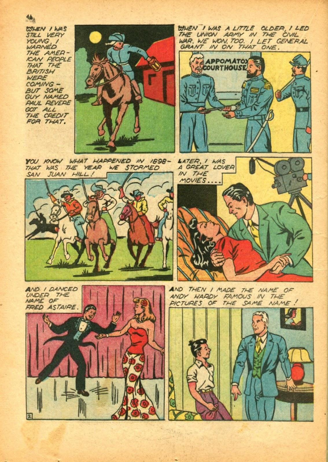 Read online Super-Magician Comics comic -  Issue #12 - 46