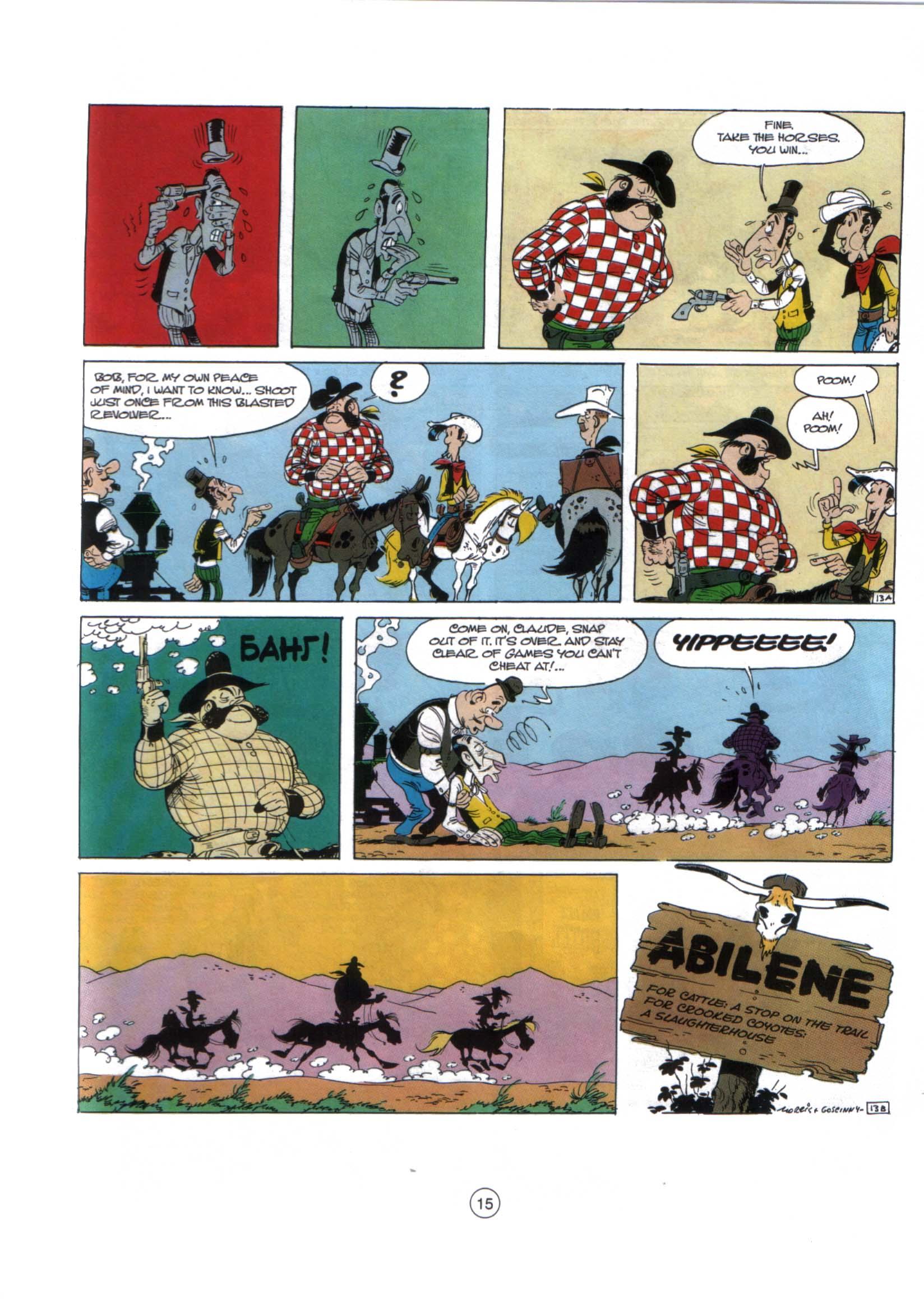 Read online A Lucky Luke Adventure comic -  Issue #29 - 14