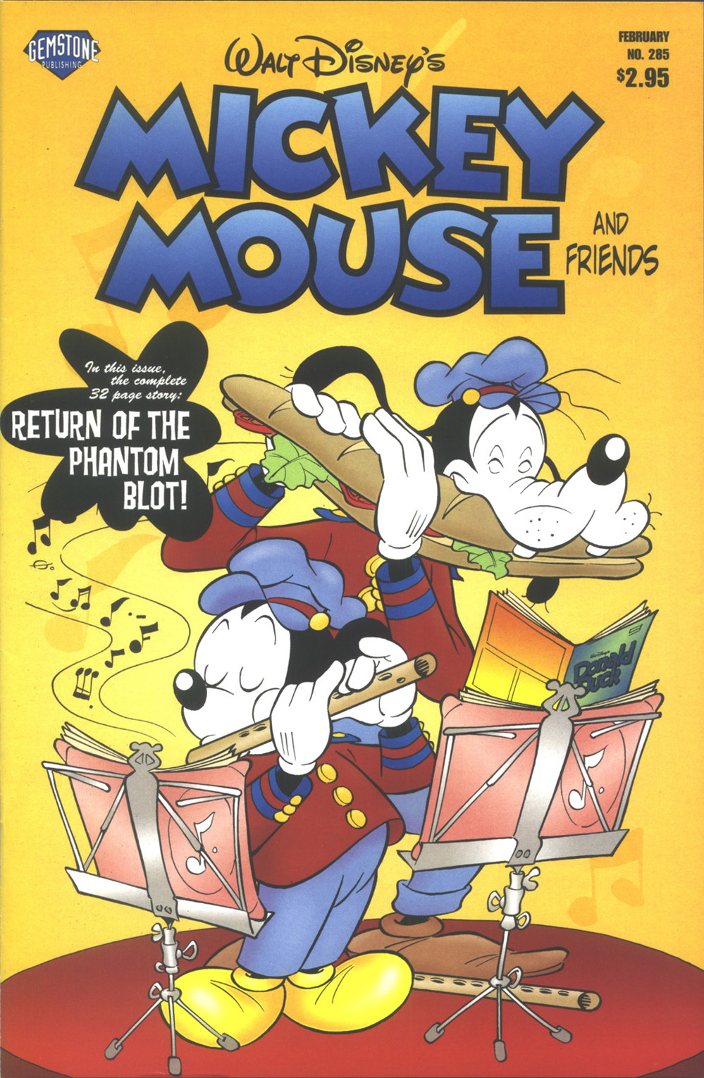 Walt Disney's Mickey Mouse issue 285 - Page 1