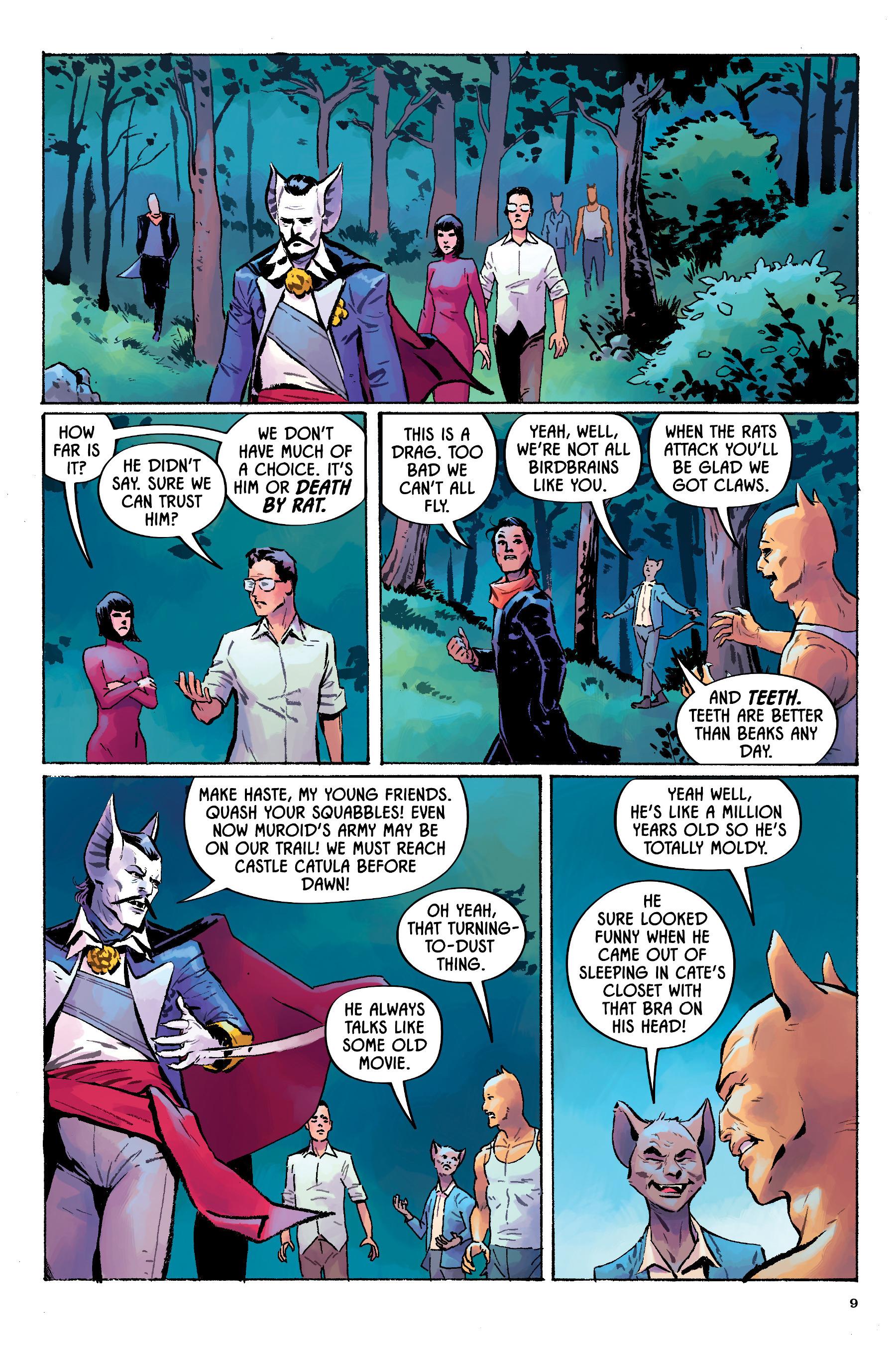 Read online Angel Catbird comic -  Issue # TPB 2 - 10