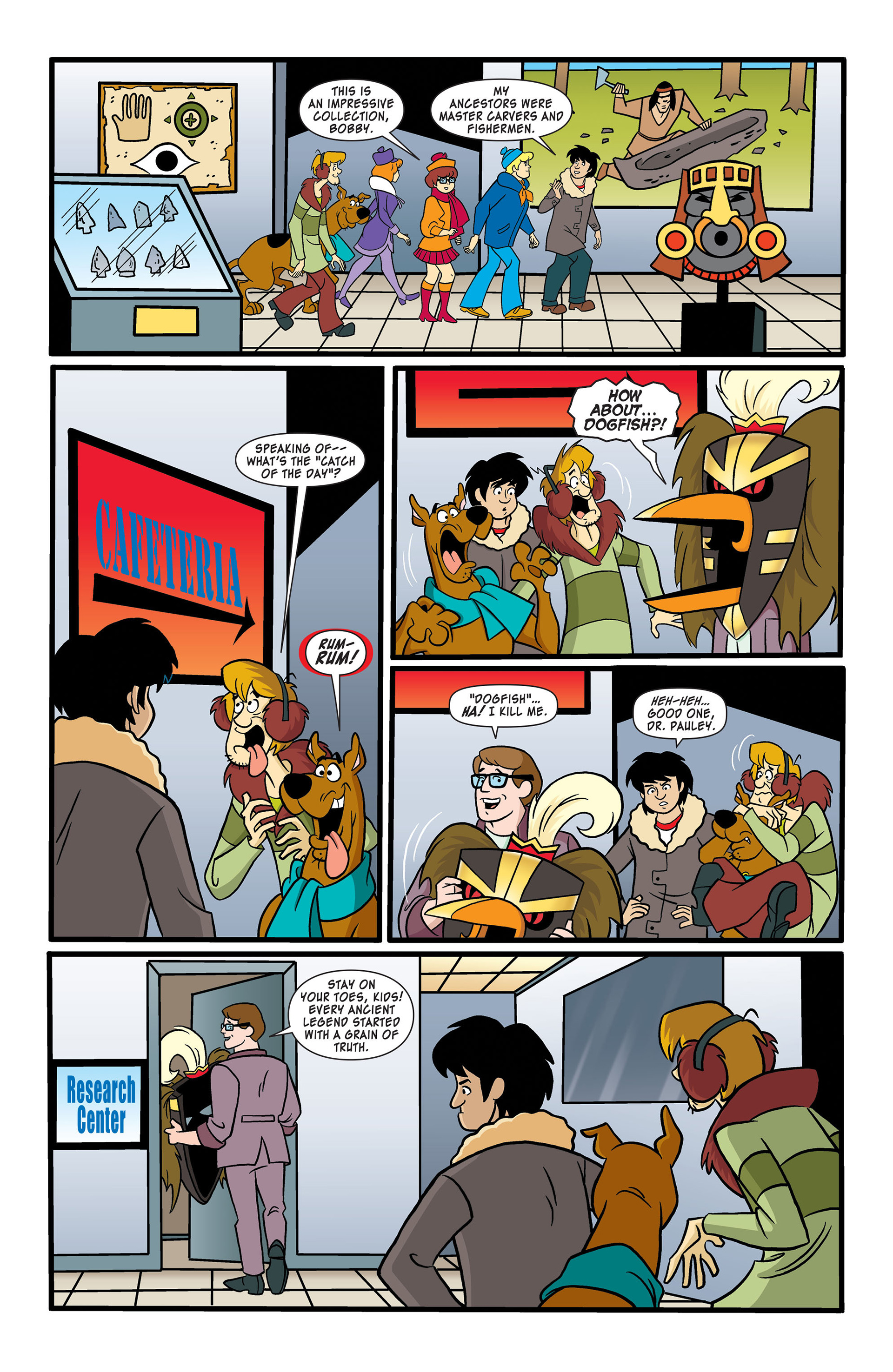Read online Scooby-Doo: Where Are You? comic -  Issue #50 - 5