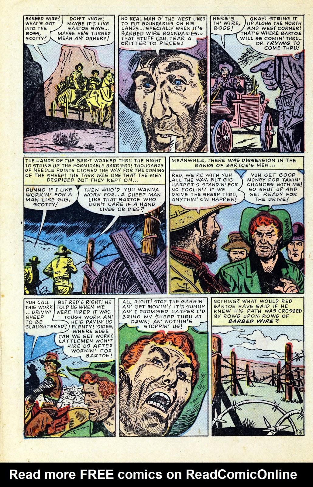 Gunsmoke Western issue 32 - Page 18