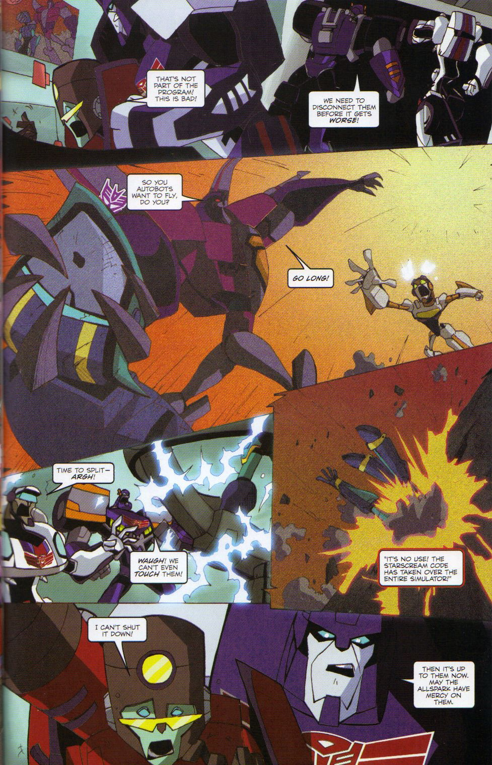 Read online Transformers Animated: The Arrival comic -  Issue #6 - 21