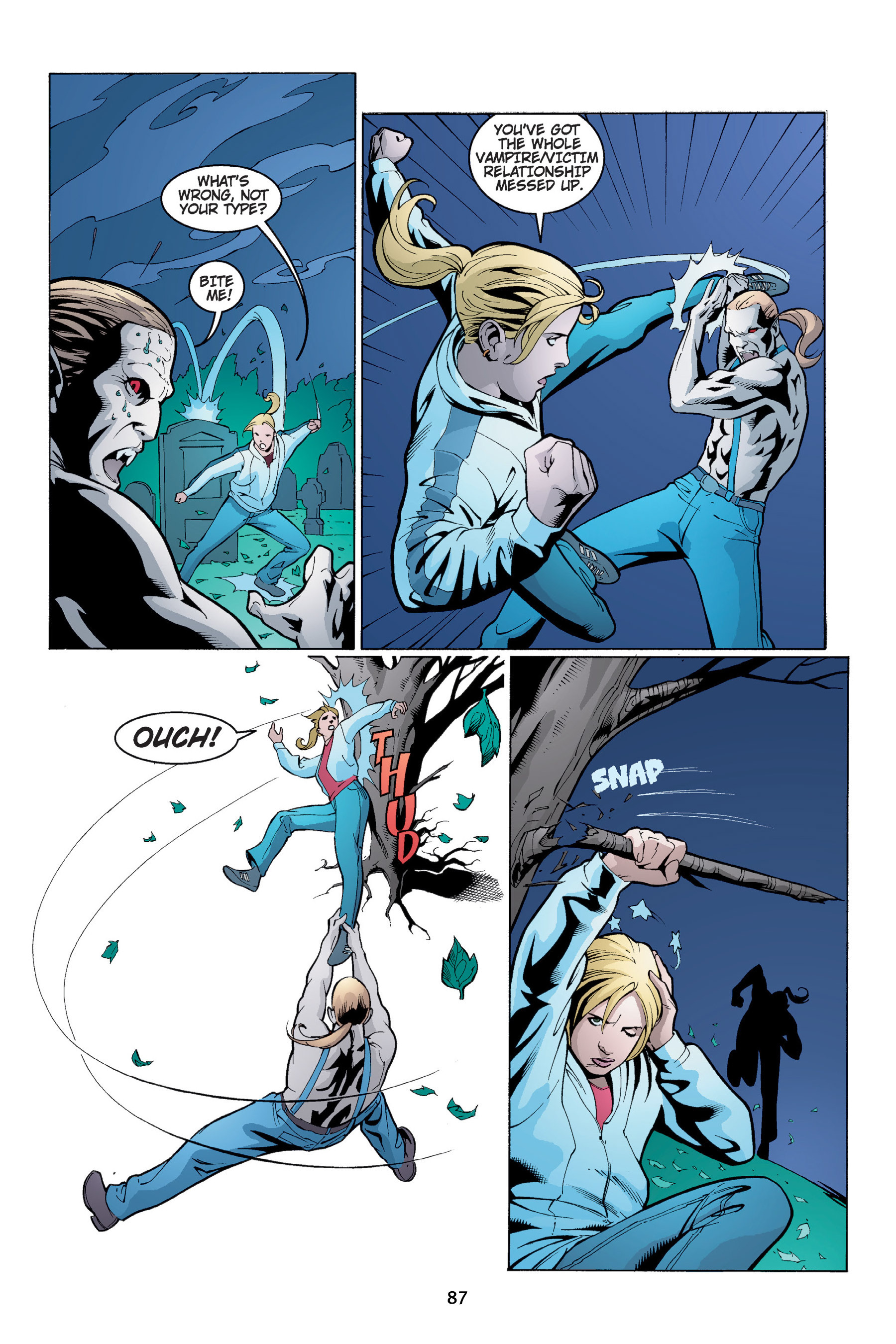 Read online Buffy the Vampire Slayer: Omnibus comic -  Issue # TPB 4 - 88