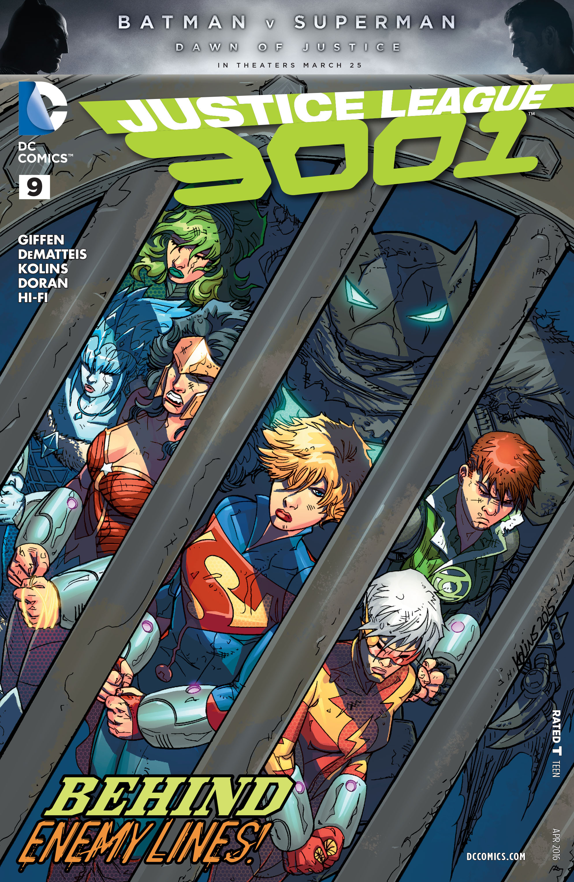 Justice League 3001 9 Page 1