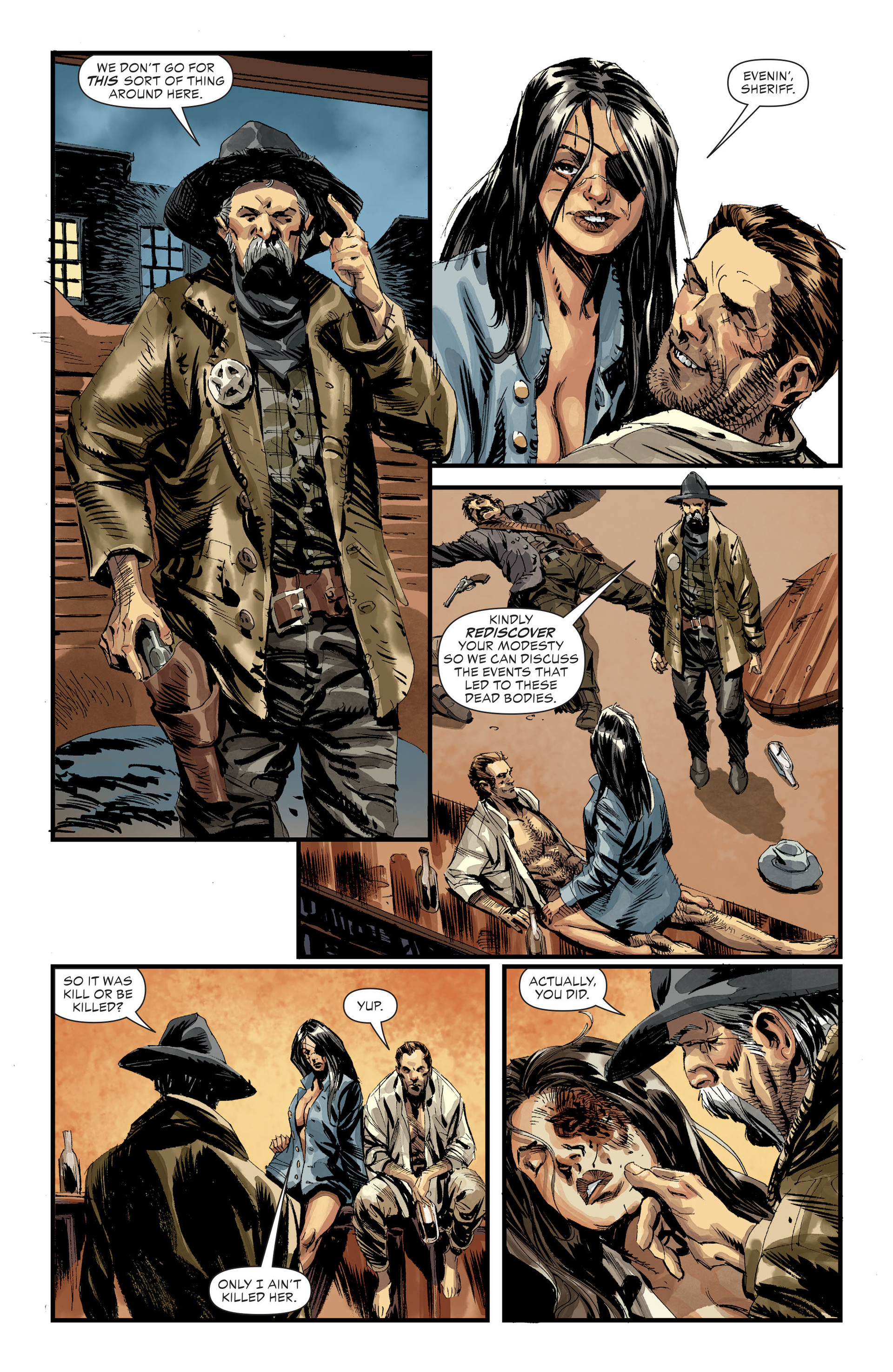 Read online All-Star Western (2011) comic -  Issue #31 - 9