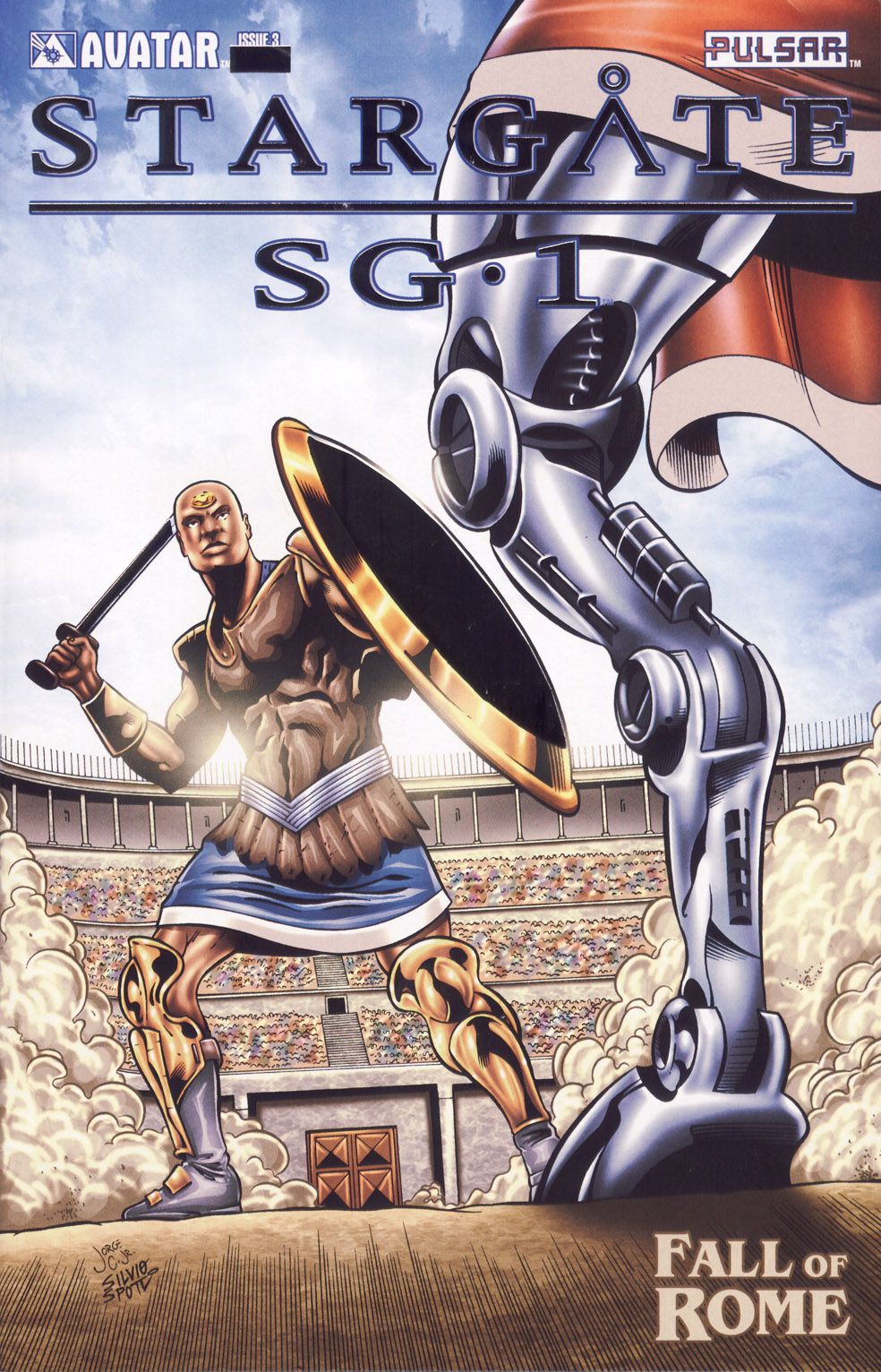 Read online Stargate SG-1: Fall of Rome comic -  Issue #3 - 1