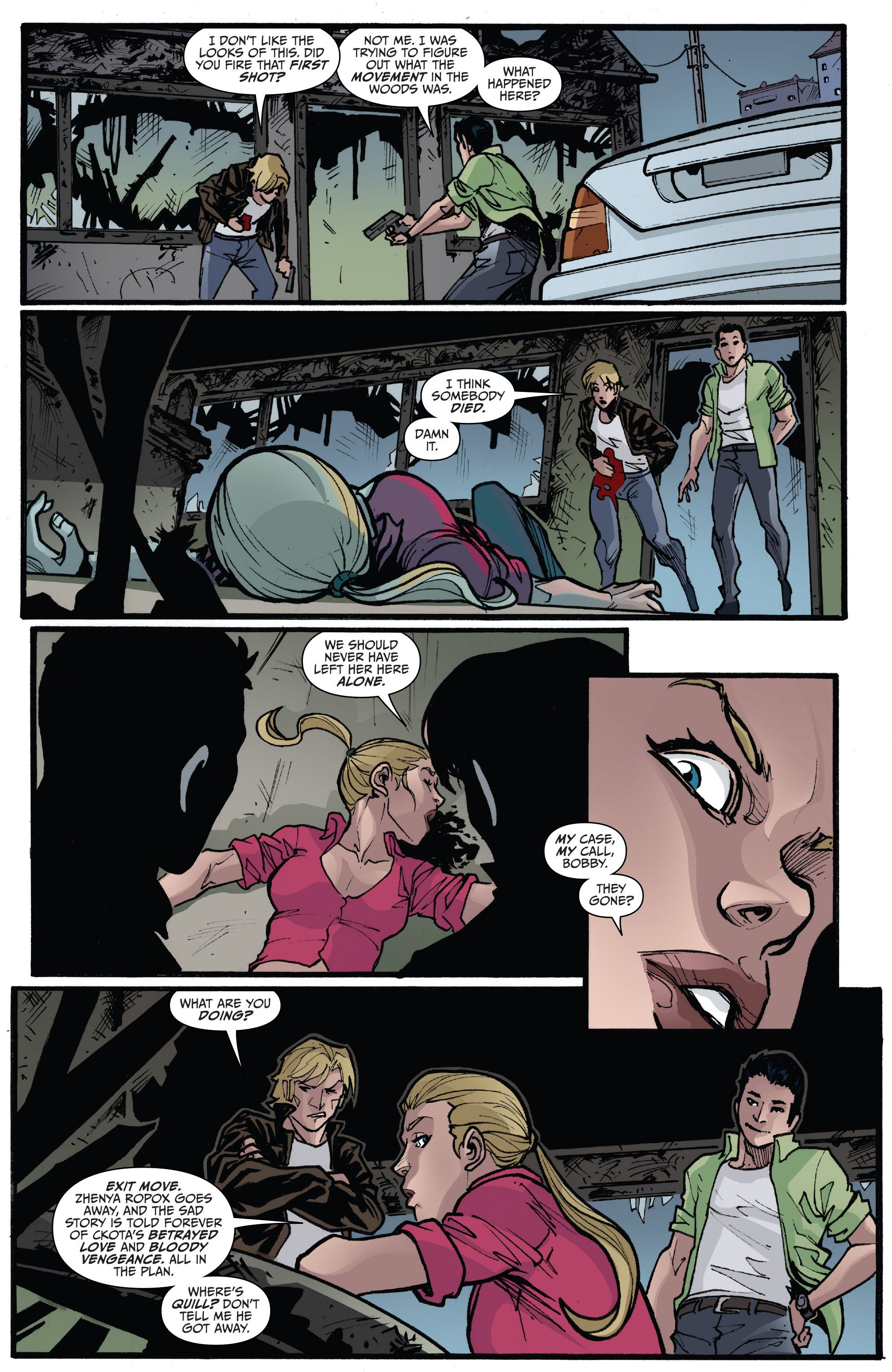 Read online 3 Guns comic -  Issue #6 - 21