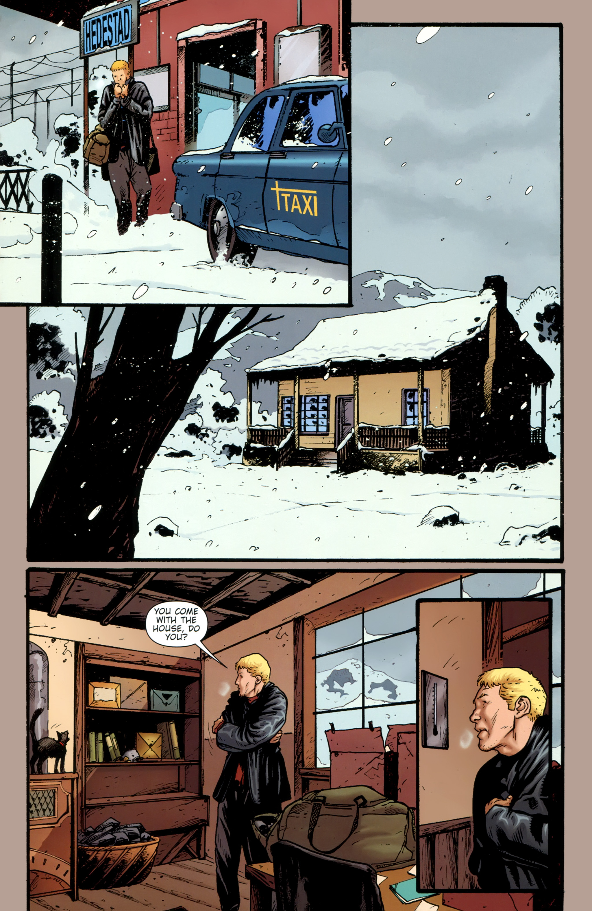 Read online The Girl With the Dragon Tattoo comic -  Issue # TPB 1 - 86