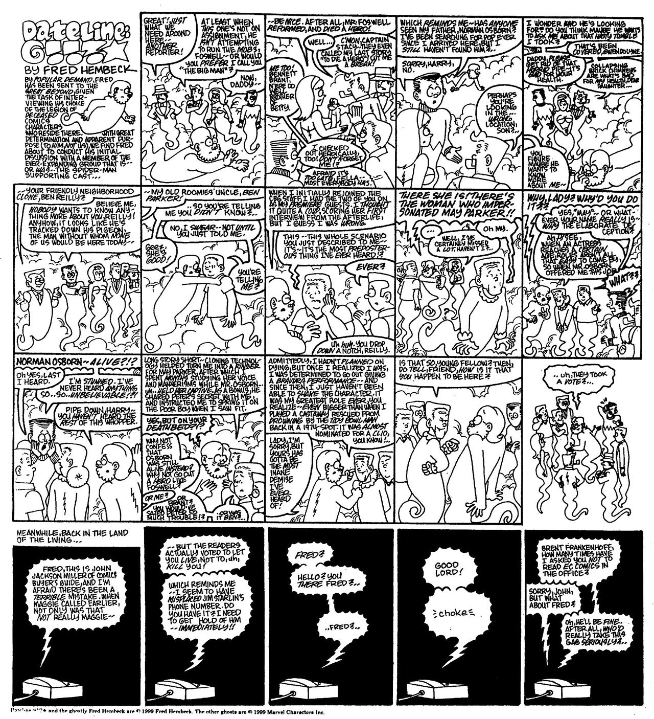 Read online The Nearly Complete Essential Hembeck Archives Omnibus comic -  Issue # TPB (Part 7) - 84