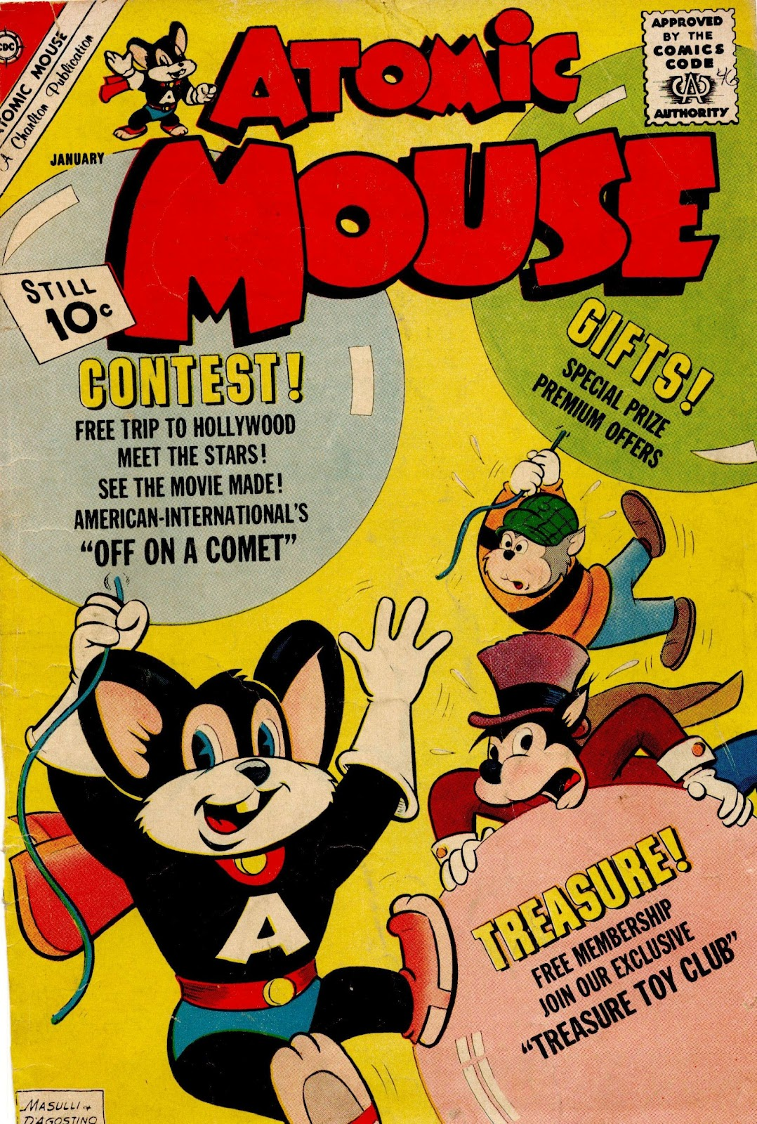 Atomic Mouse issue 46 - Page 1