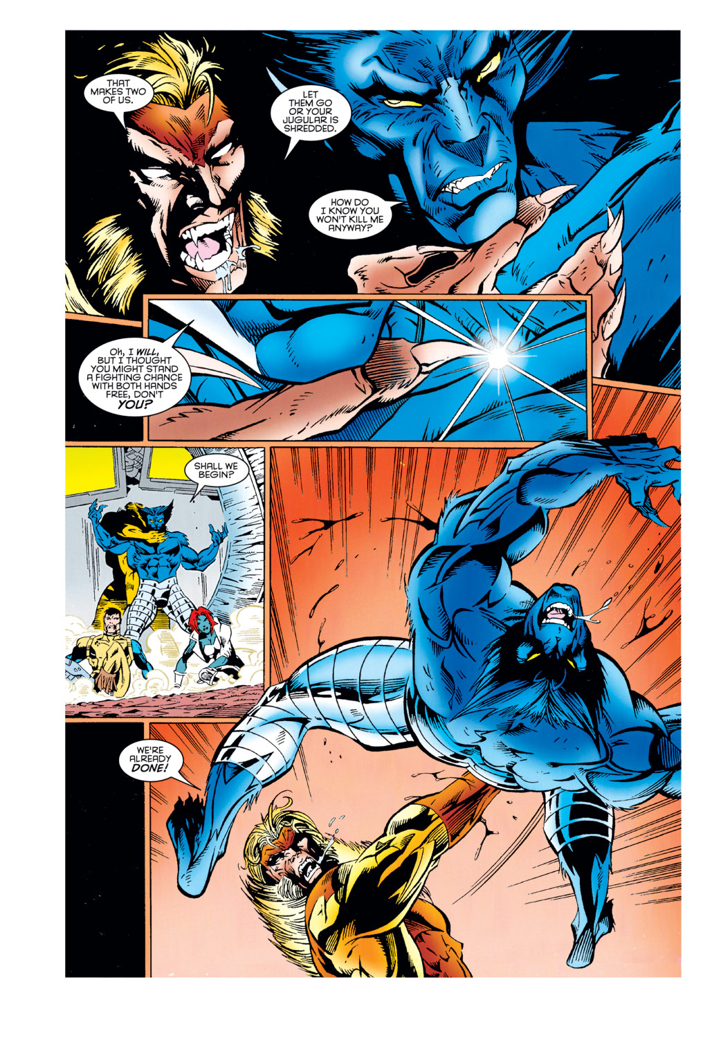 Read online X-Factor (1986) comic -  Issue #125 - 37