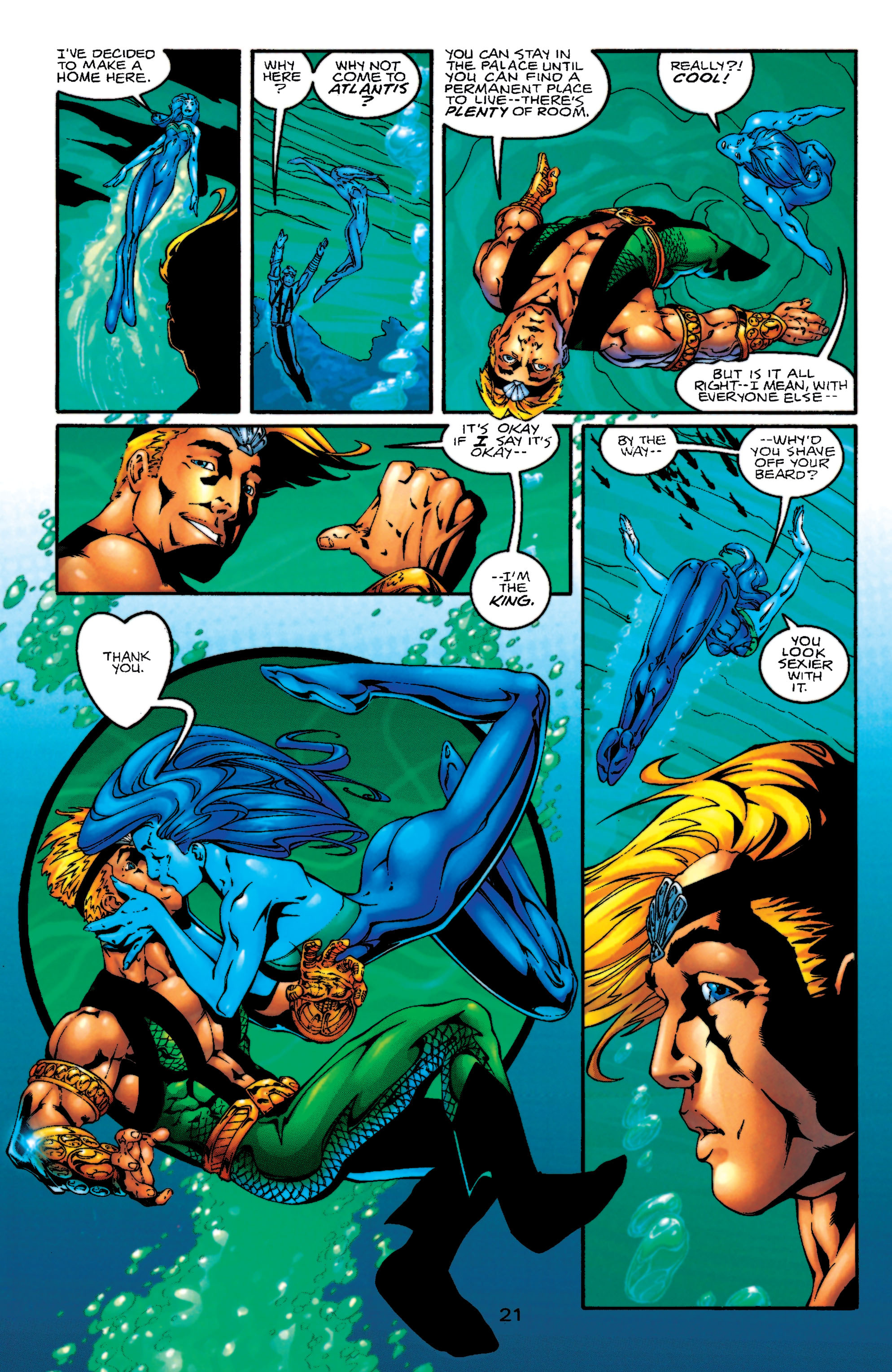 Read online Aquaman (1994) comic -  Issue #55 - 22