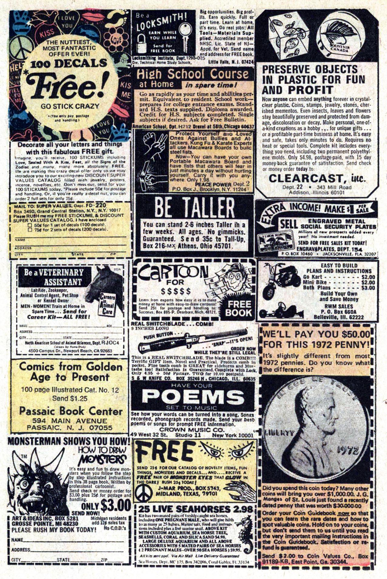 Read online Amazing Adventures (1970) comic -  Issue #29 - 14