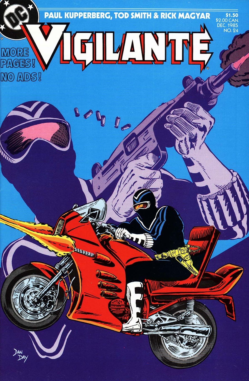 Vigilante (1983) issue 24 - Page 1