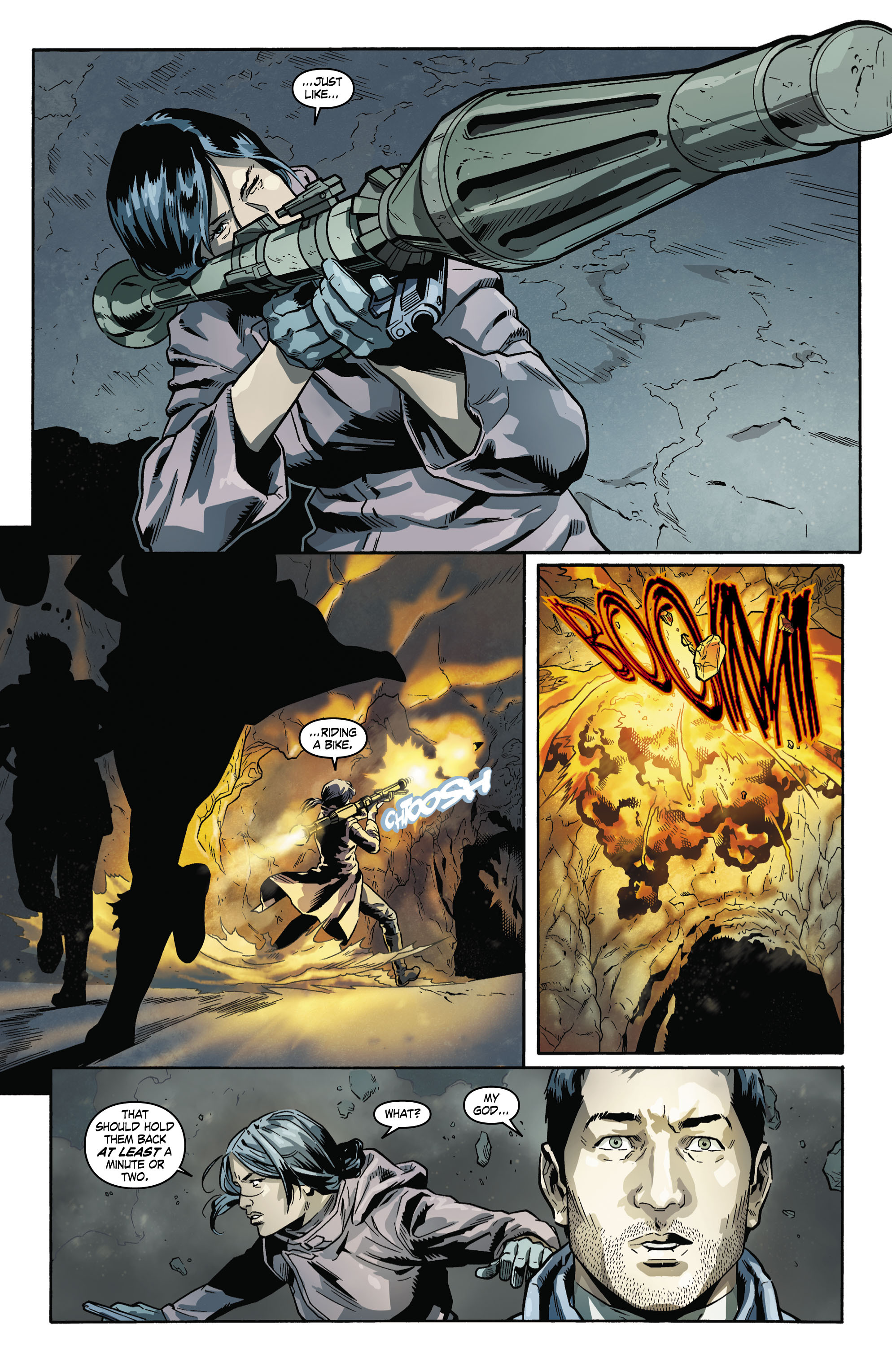 Read online Uncharted comic -  Issue #5 - 9