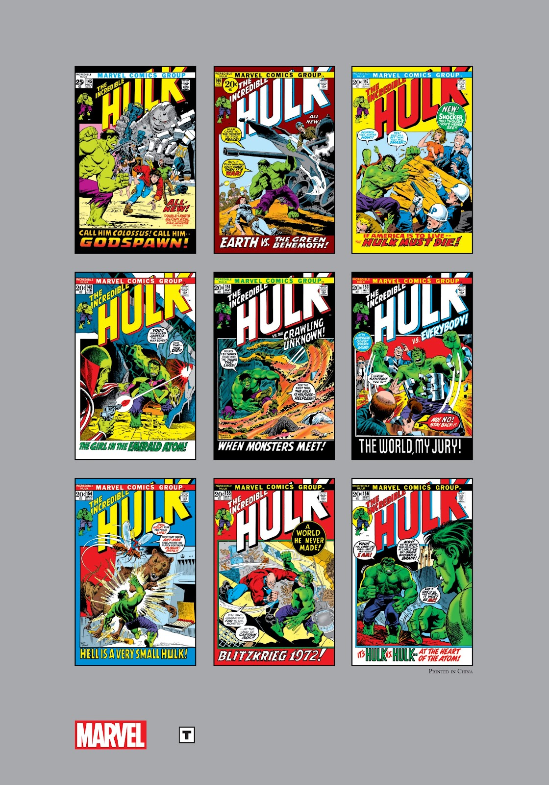 Read online Marvel Masterworks: The Incredible Hulk comic -  Issue # TPB 8 (Part 3) - 88