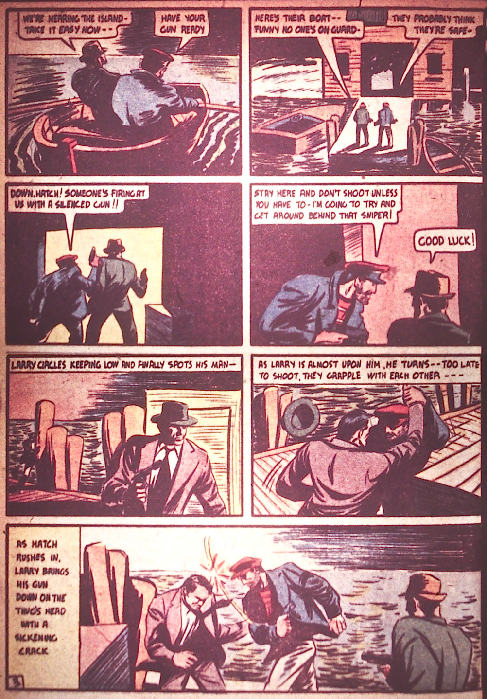Detective Comics (1937) 8 Page 11