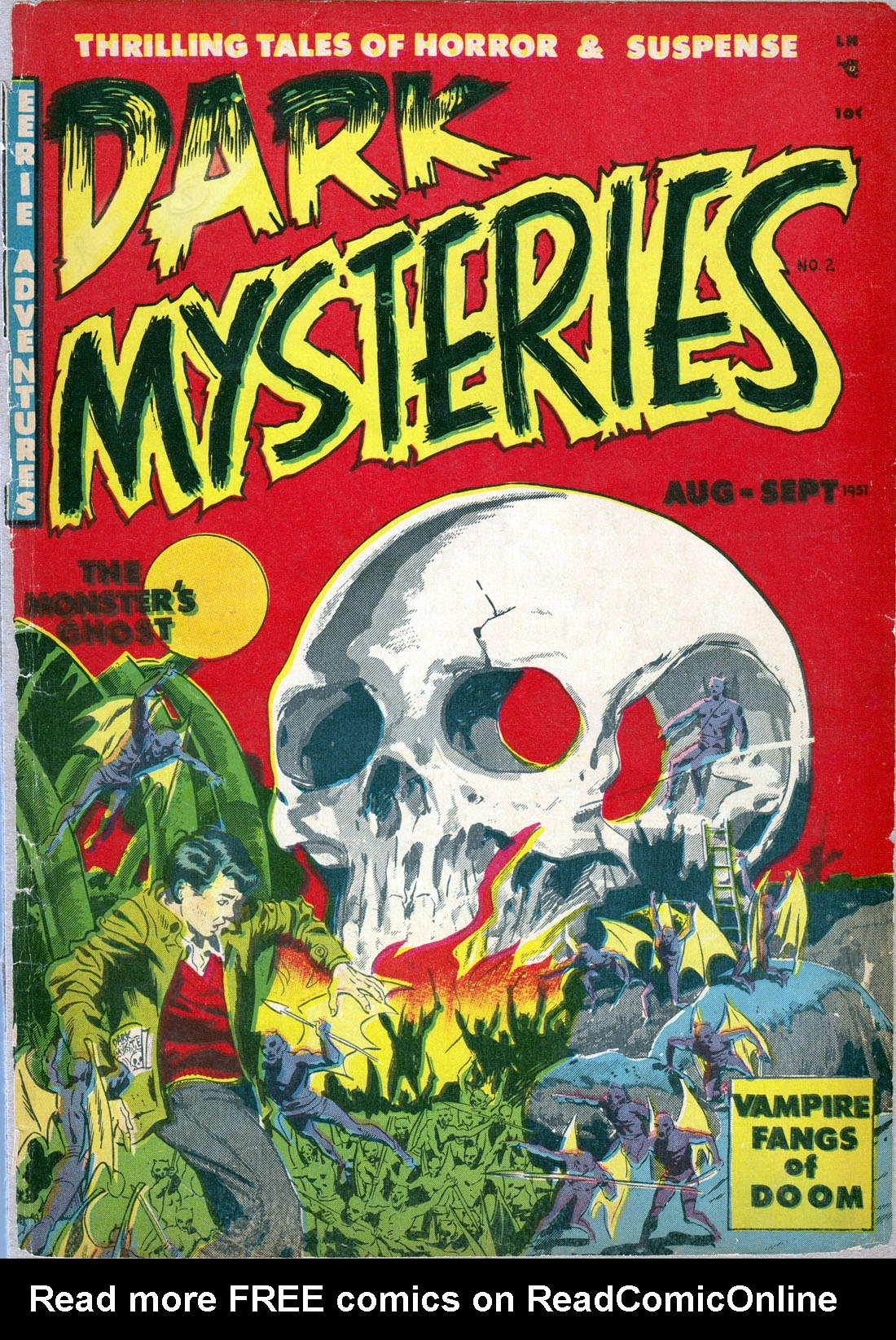 Dark Mysteries 2 Page 1