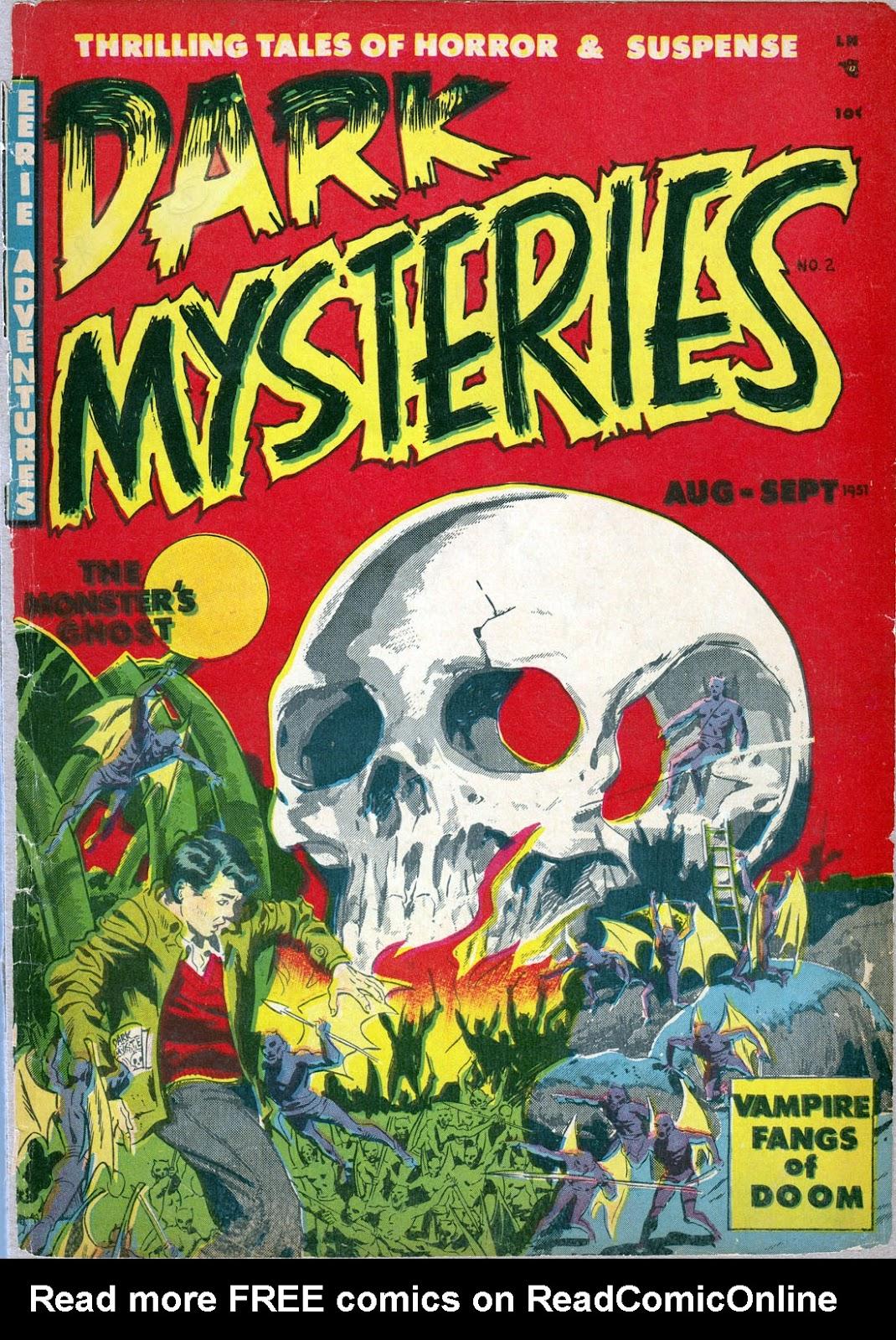 Dark Mysteries issue 2 - Page 1
