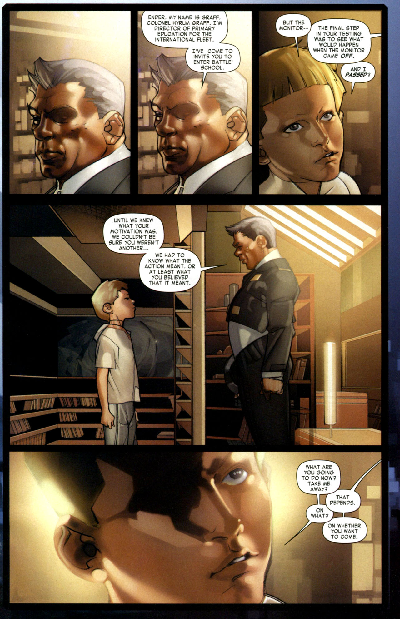 Read online Ender's Game: Battle School comic -  Issue #1 - 22