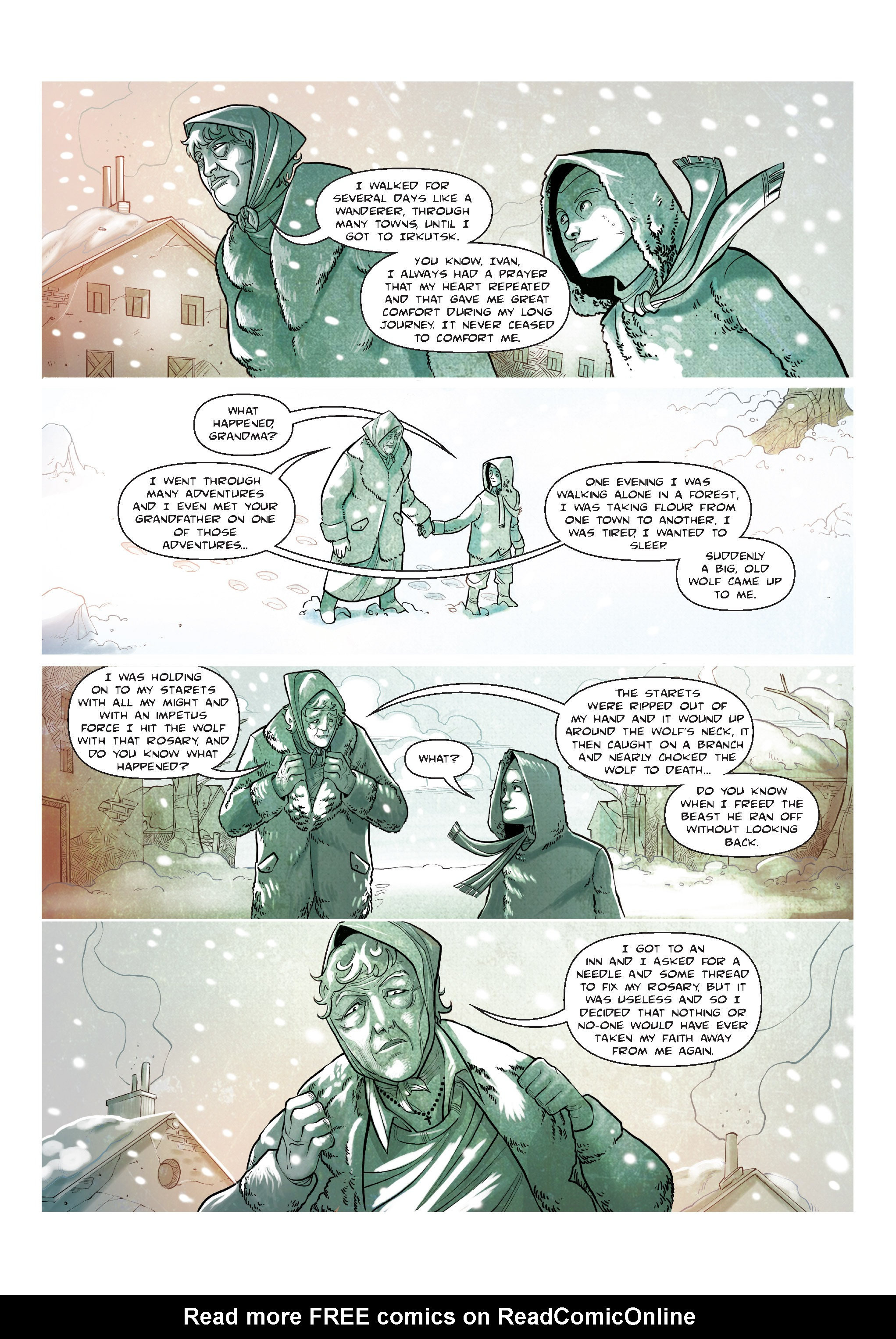 Read online The Shadow of a Terrible Thing comic -  Issue # TPB - 55