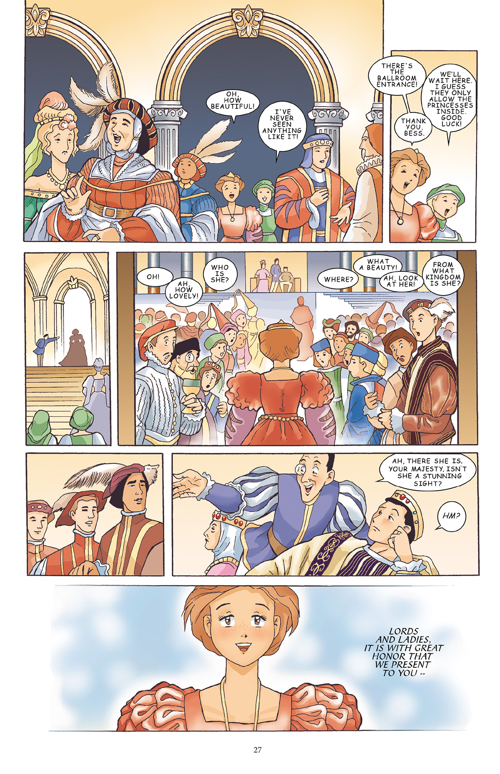 Read online Courageous Princess comic -  Issue # TPB 1 - 28