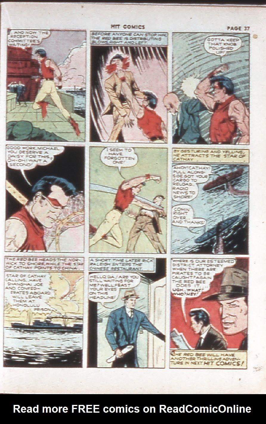 Read online Hit Comics comic -  Issue #10 - 39