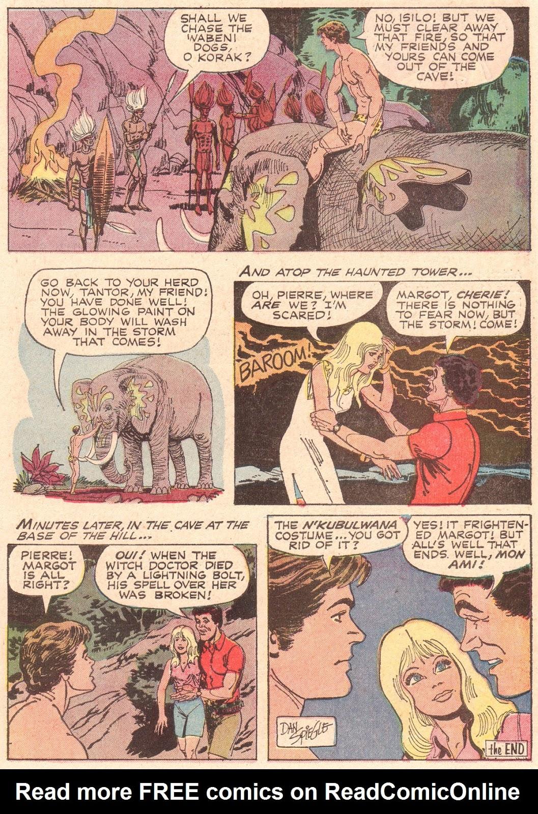 Korak, Son of Tarzan (1964) issue 38 - Page 22