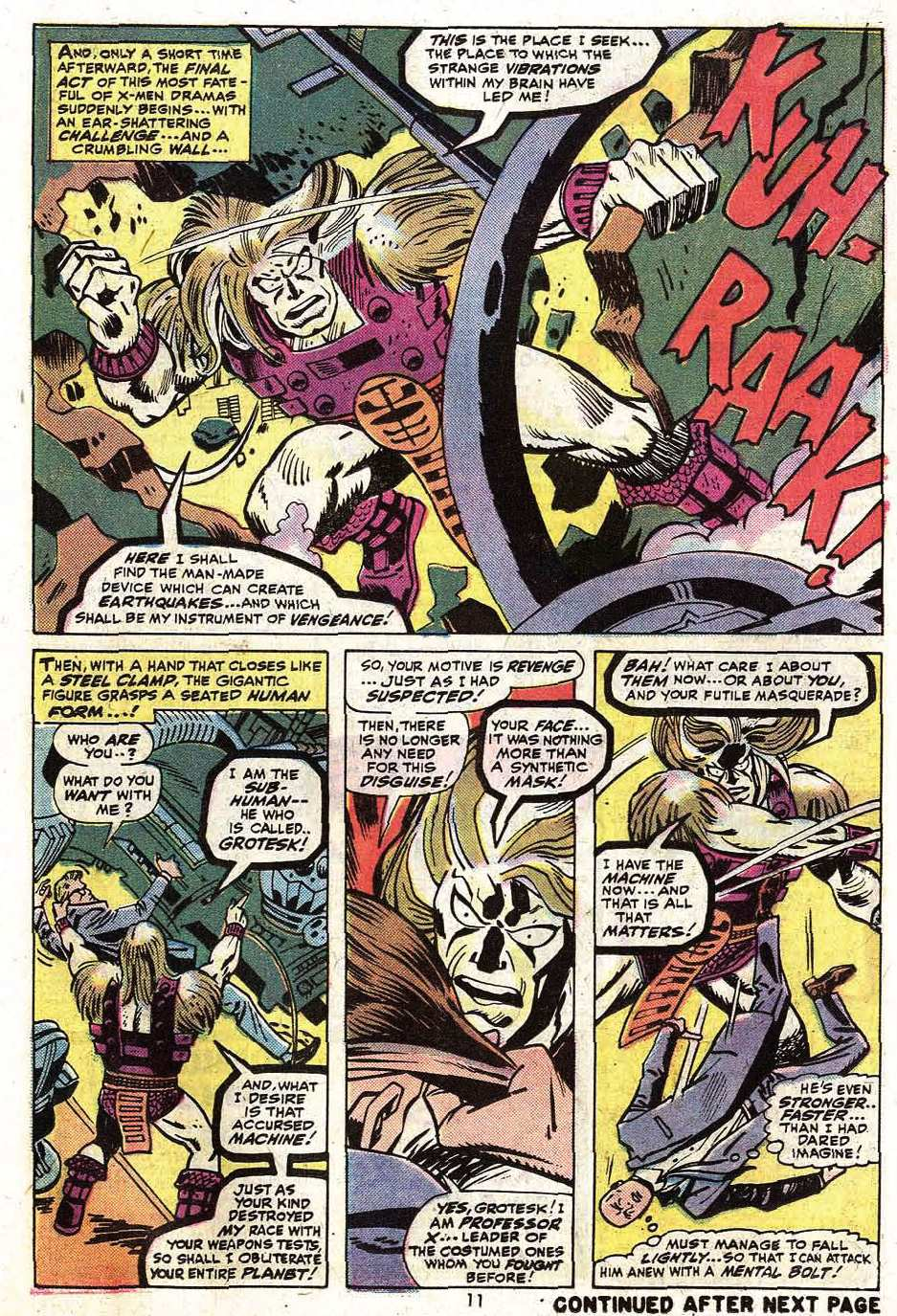 Uncanny X-Men (1963) 90 Page 12