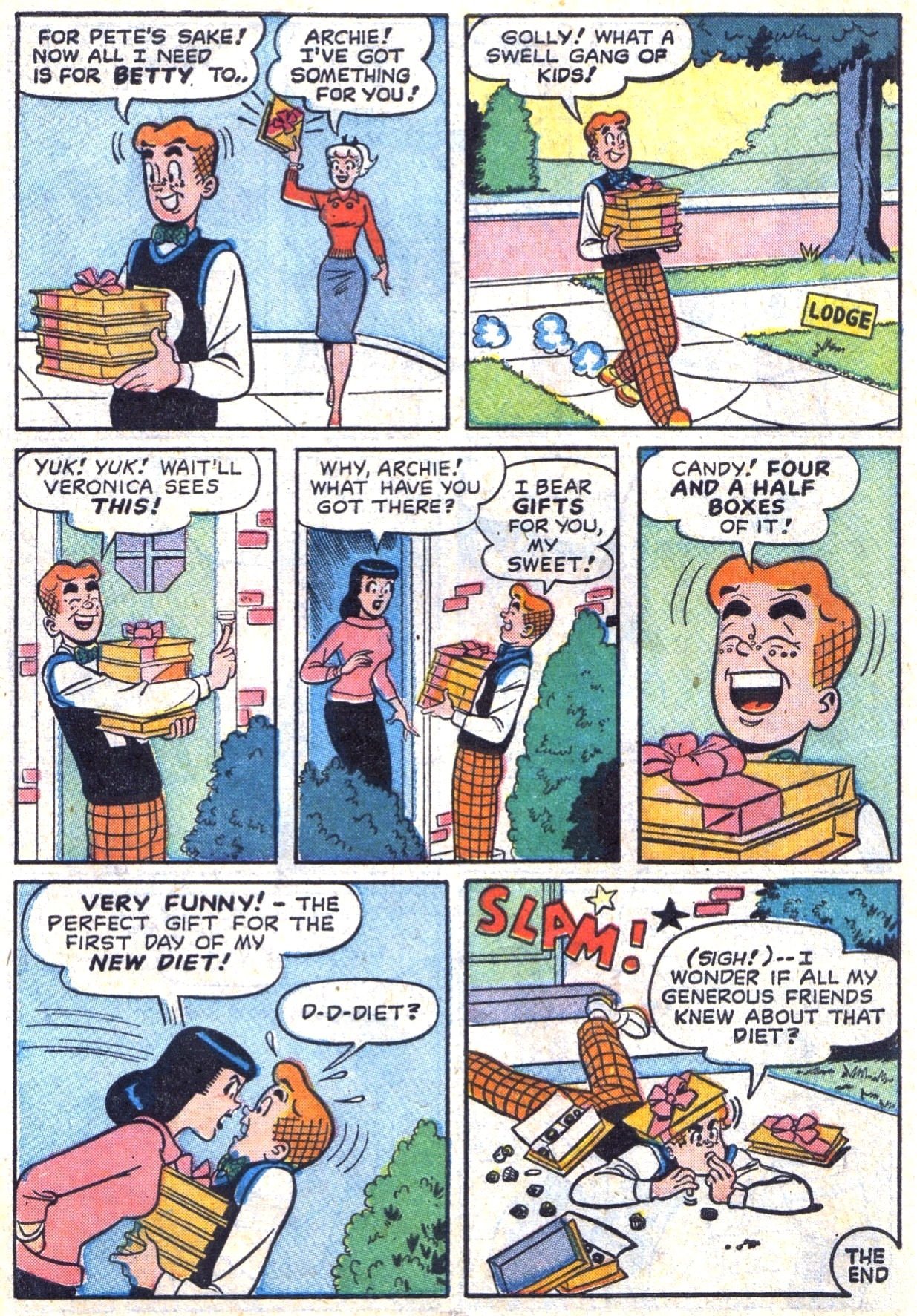Read online Archie (1960) comic -  Issue #117 - 34