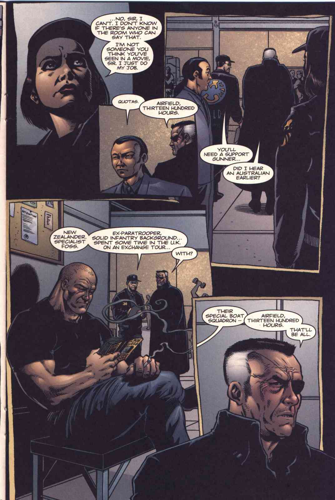 Read online Fury comic -  Issue #3 - 11