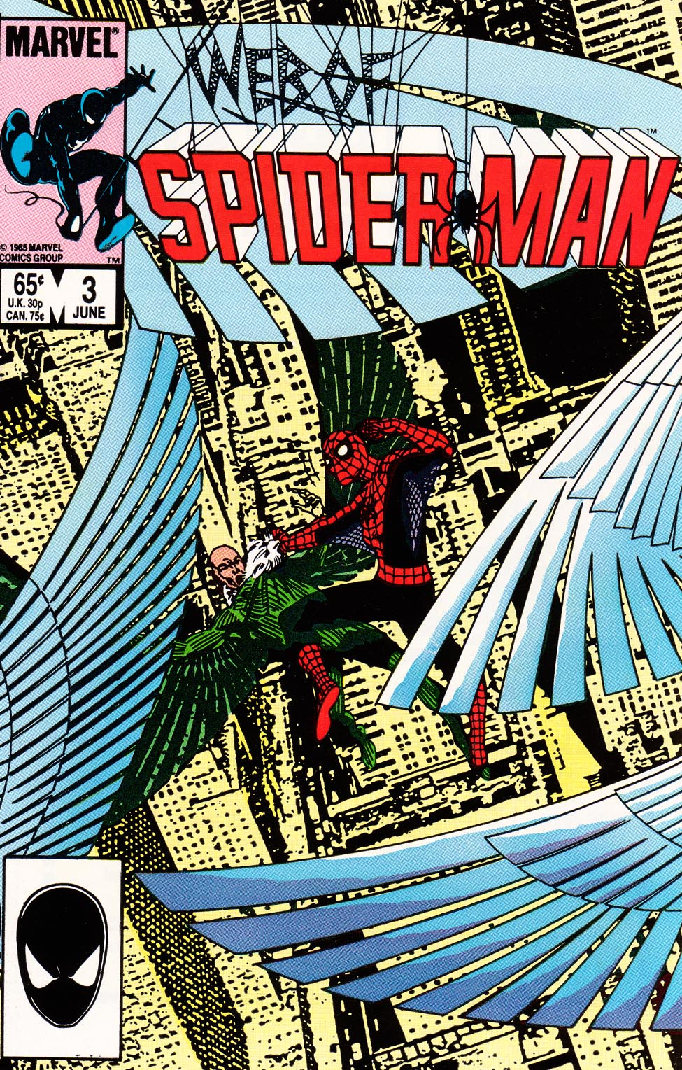 Web of Spider-Man (1985) 3 Page 1