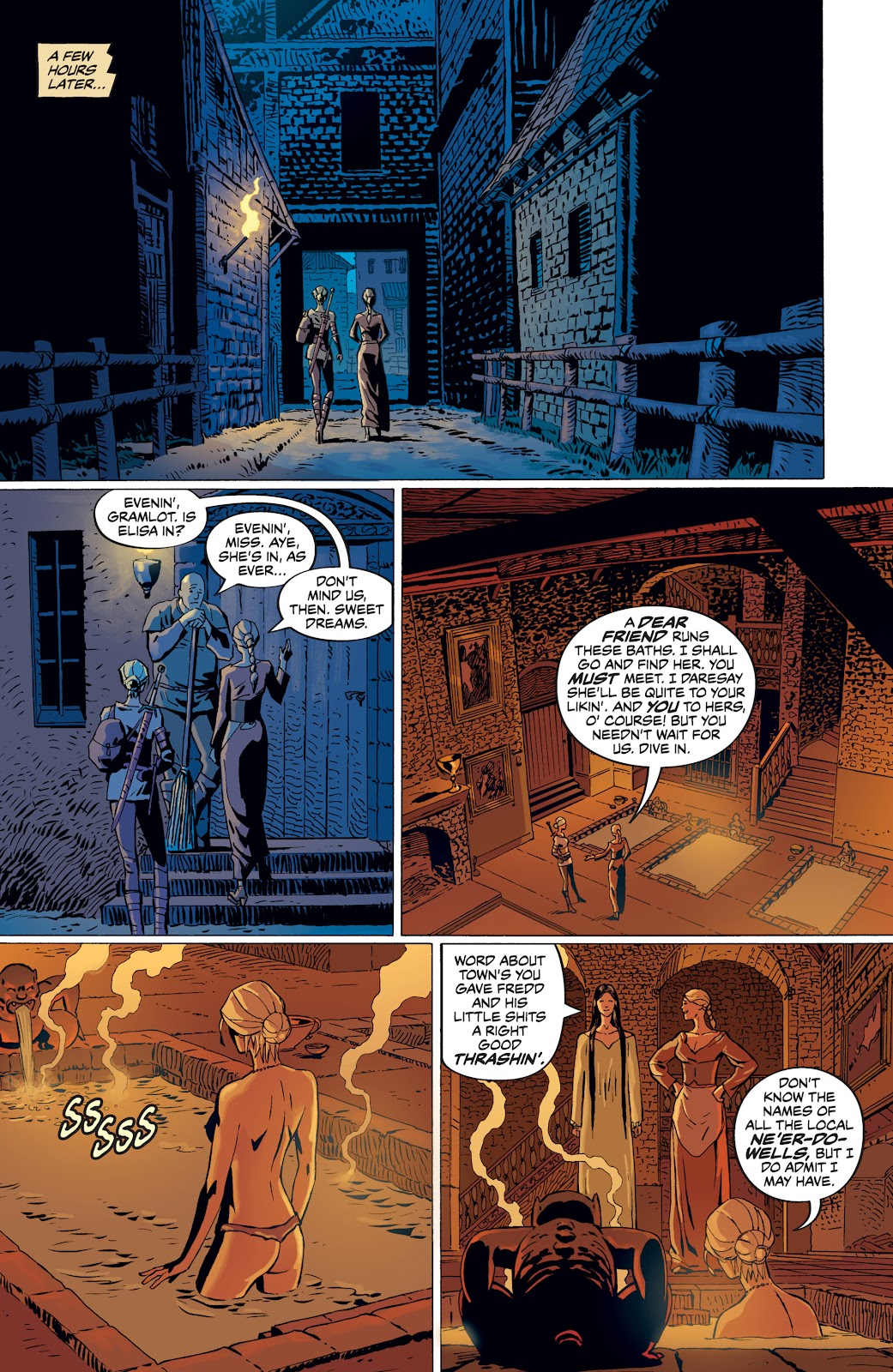 Read online The Witcher Omnibus comic -  Issue # TPB (Part 4) - 73
